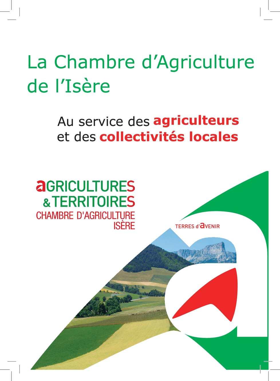 Calam o plaquette de la chambre d 39 agriculture de l 39 is re - Chambre d agriculture de la manche ...