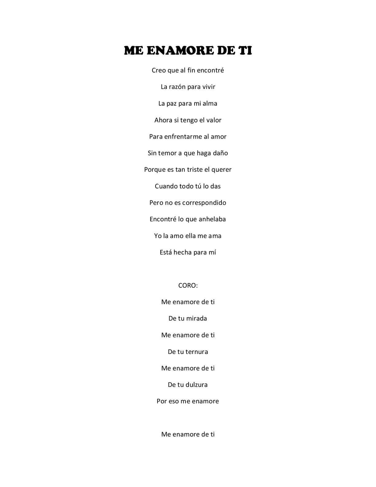 Calaméo Letras De Canciones De Pipe Bueno
