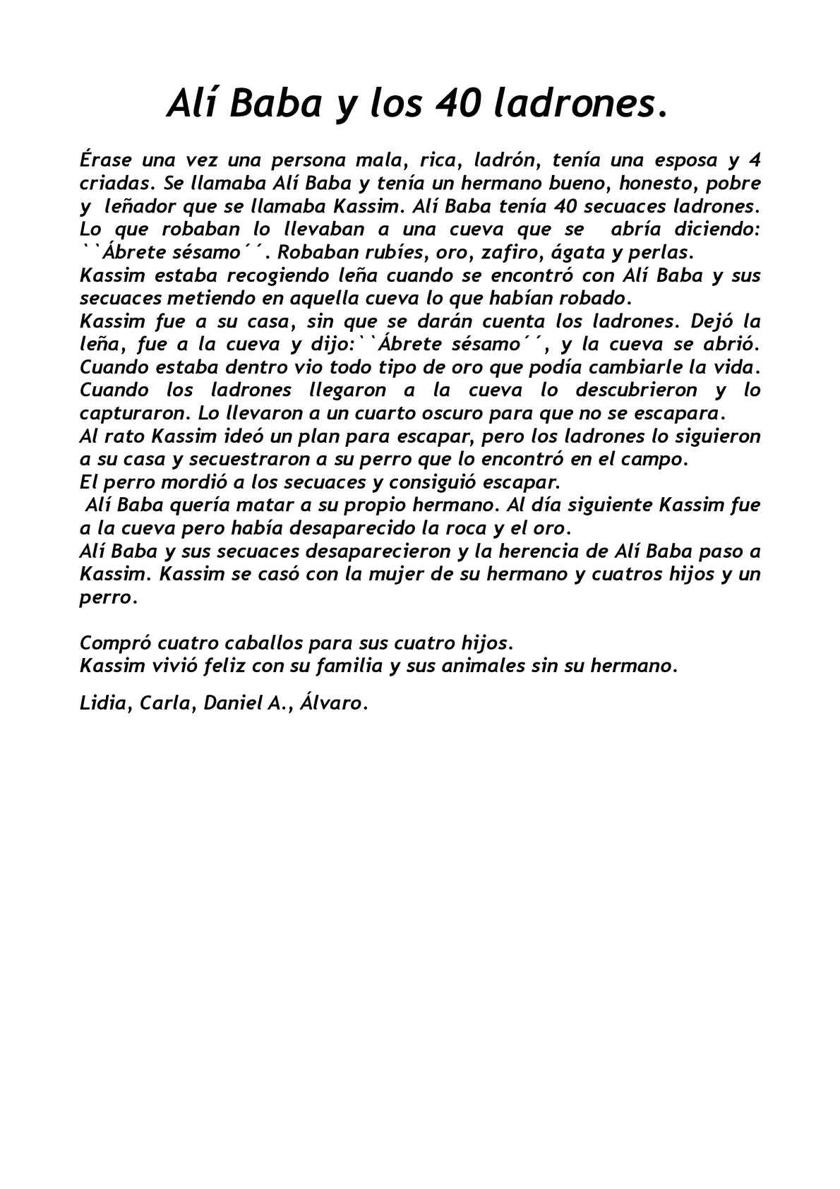 Calaméo - CUENTOS TRADICIONALES TRANSFORMADOS