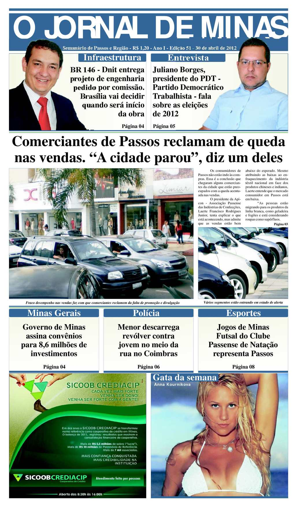 a7a6350d21 Calaméo - O Jornal de Minas Edição 51 de 30 de abril de 2012