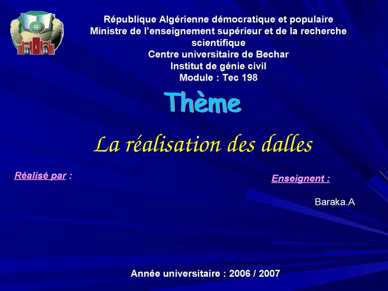 Rencontres universitaires de genie civil 2006