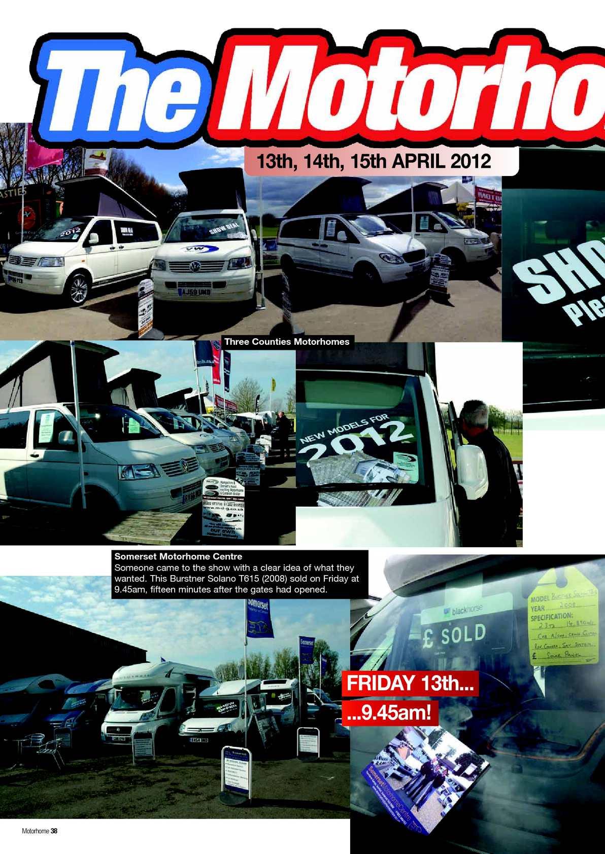 June 2012 Motorhome Monthly - CALAMEO Downloader