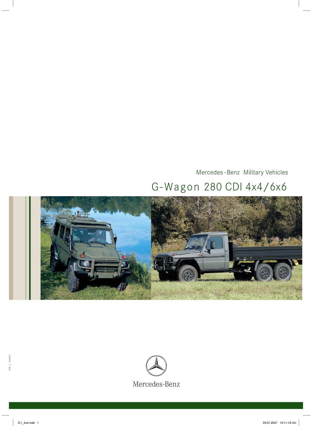 Calameo Mercedes G 461 6x6