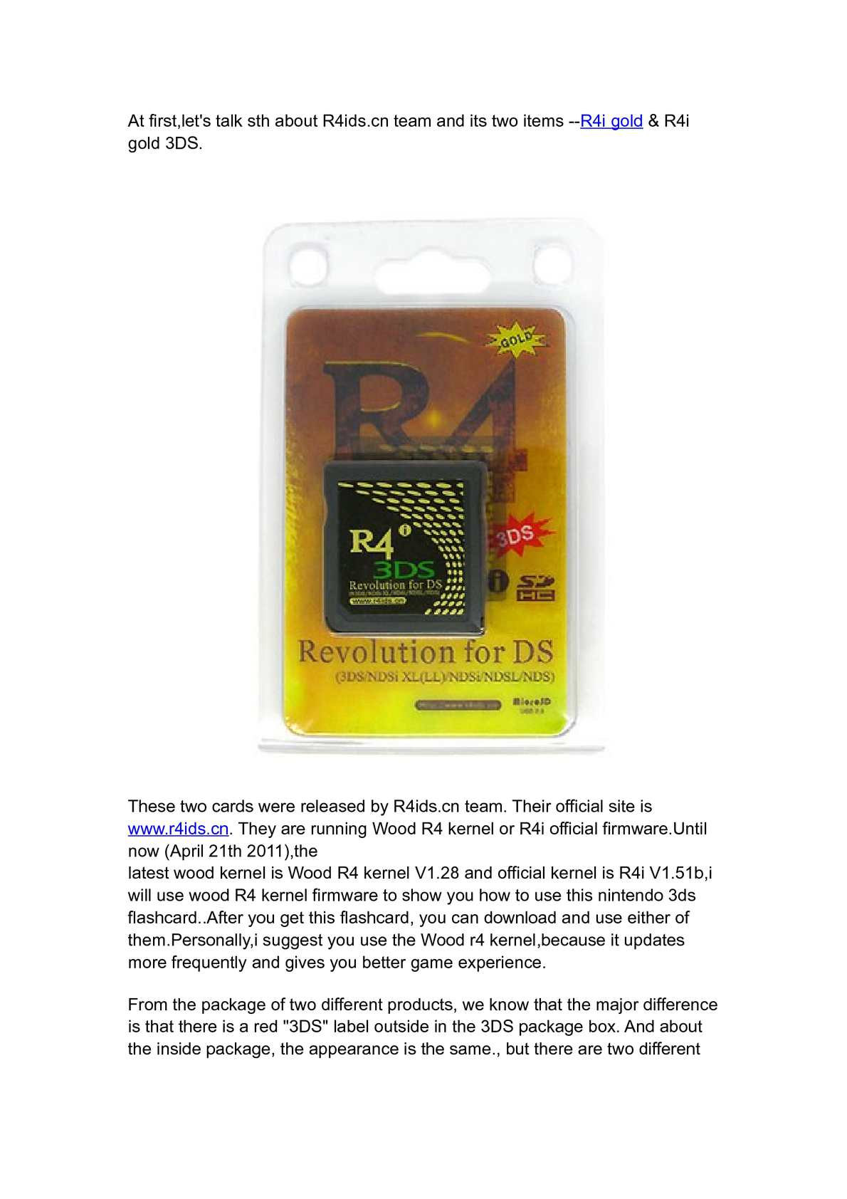 Calaméo - How to use R4i Gold 3DS card