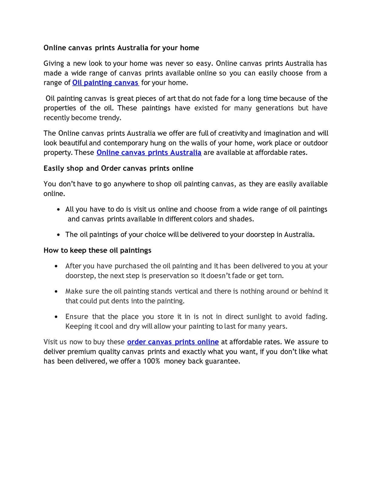 Calaméo - Online canvas prints Australia for your home
