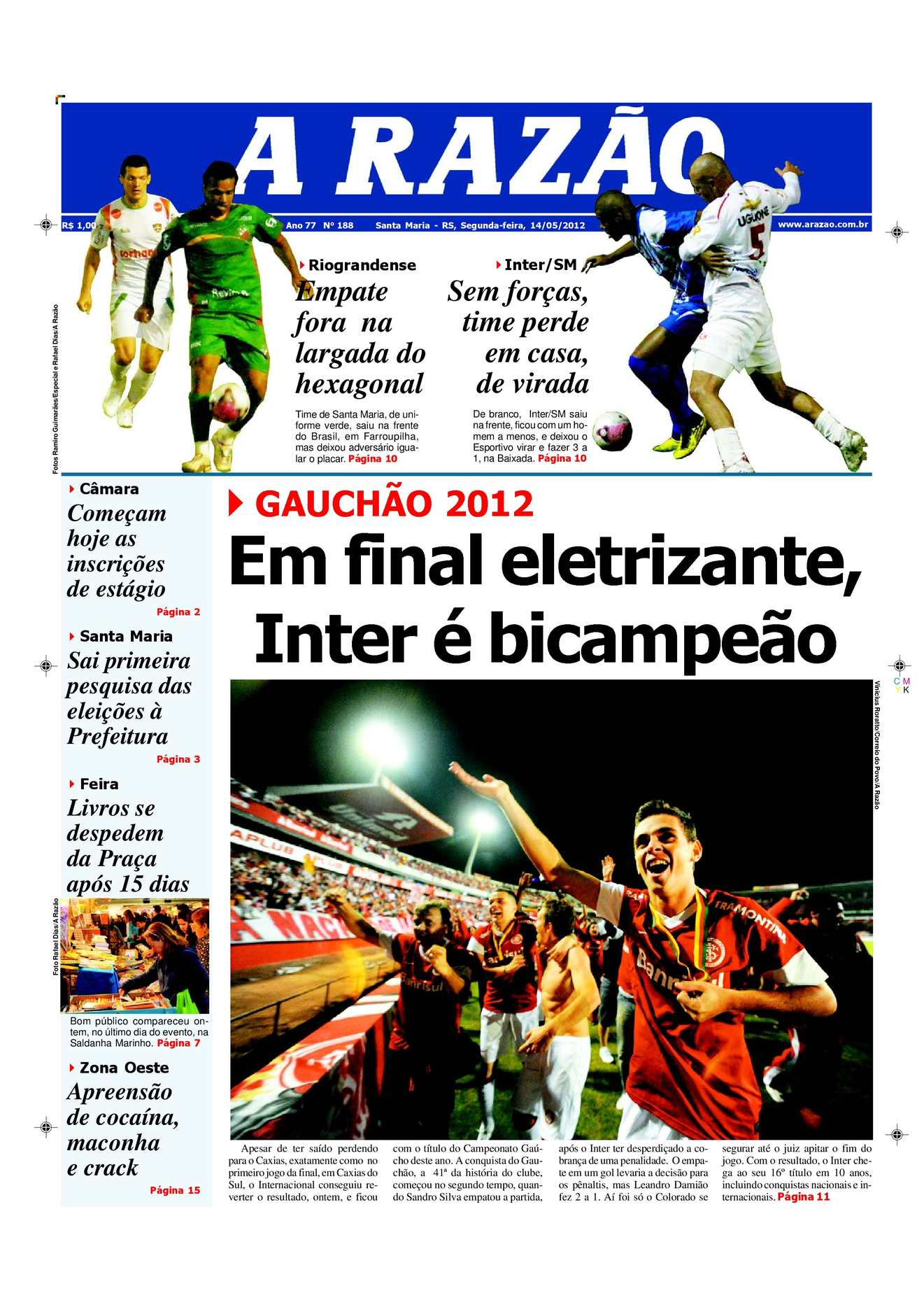 Calaméo - Jornal A Razão Santa Maria - 14052012 6ecdcea68f39b
