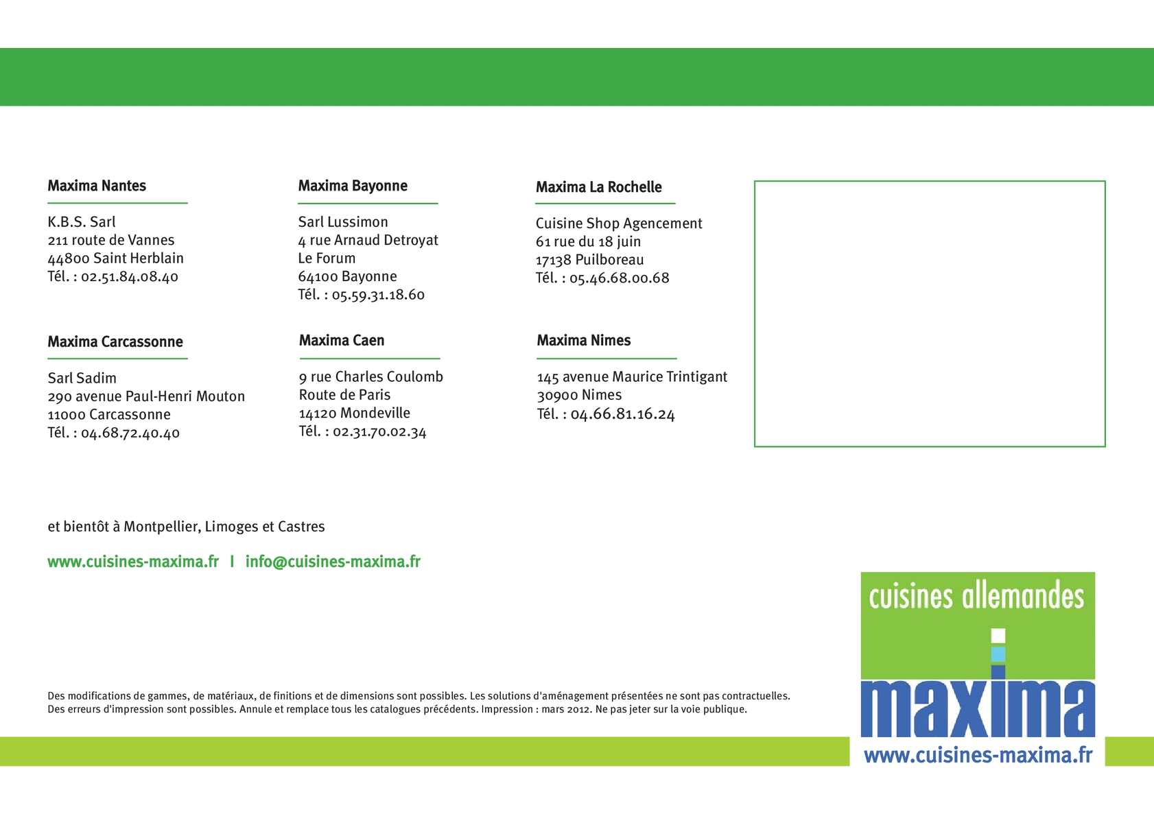 Calameo Prospekt Maxima 2