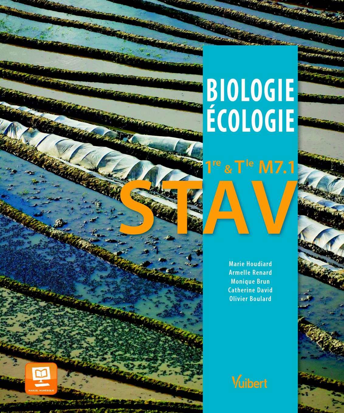 Specimen enseignant - Biologie-Écologie 1re et Tle M7.1 STAV - Vuibert