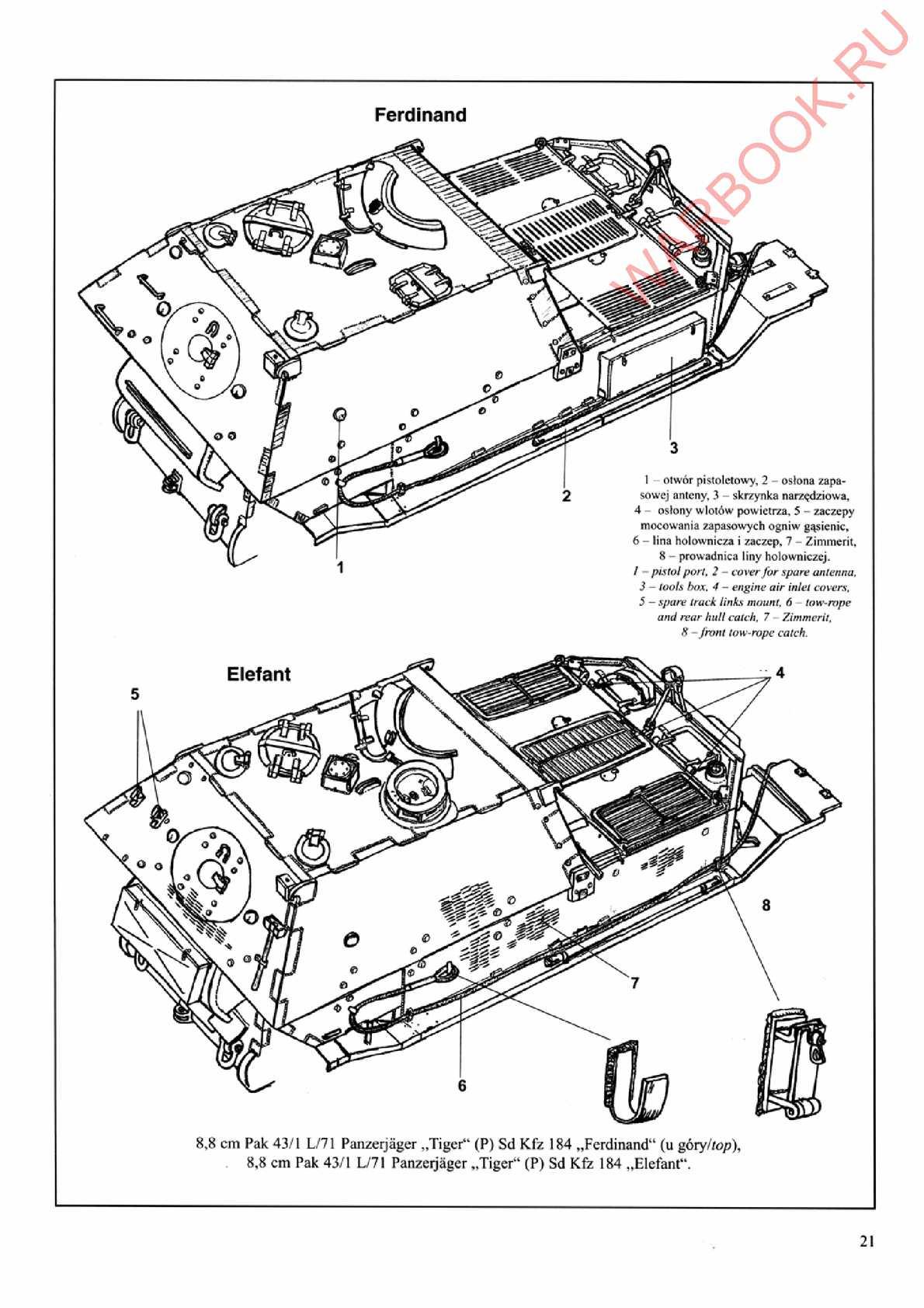 wydawnictwo militaria 187 ferdinand elefant calameo downloader Long Range Rifles page 21