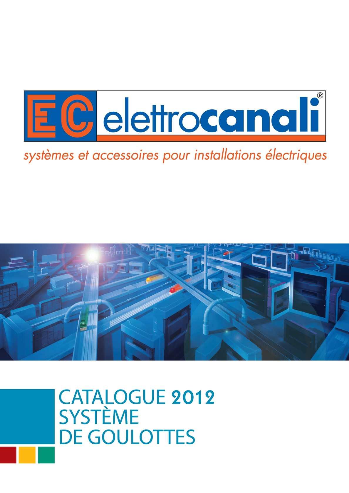 Goulotte Pour Plafond calaméo - elettrocanali catalogue goulottes