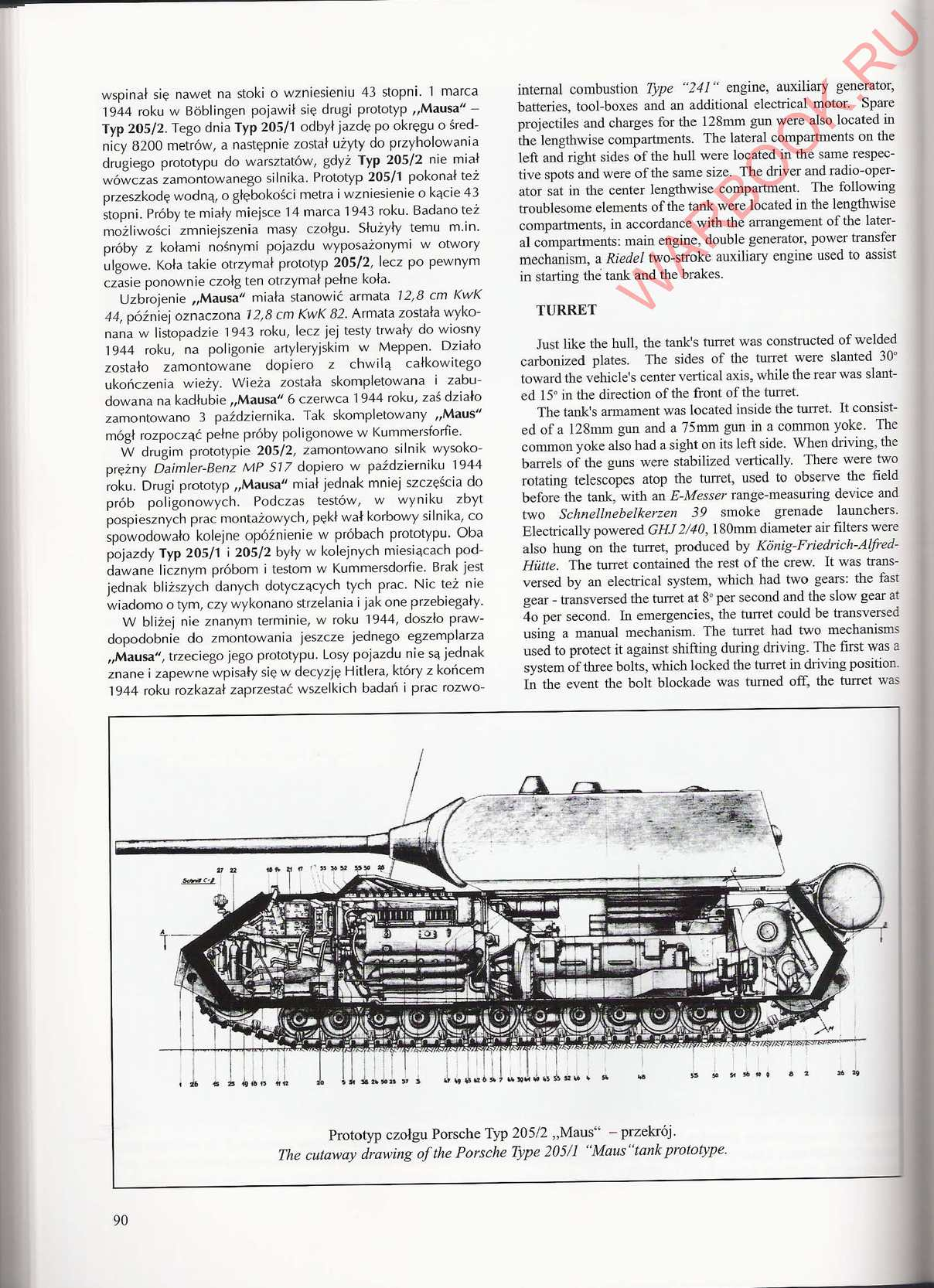Wydawnictwo Militaria 293 Sturmtiger Maus Calameo Downloader