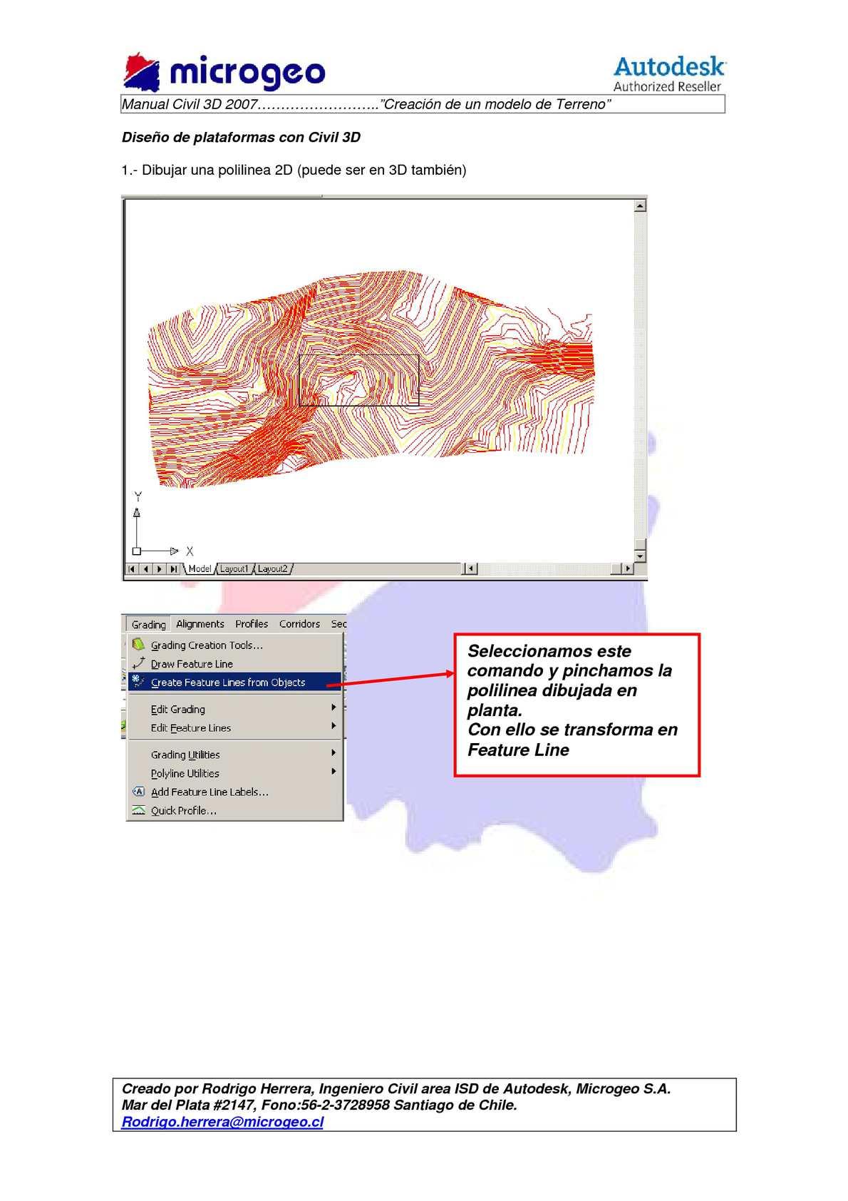 Manual Civil 3D 2007-Microgeo - CALAMEO Downloader