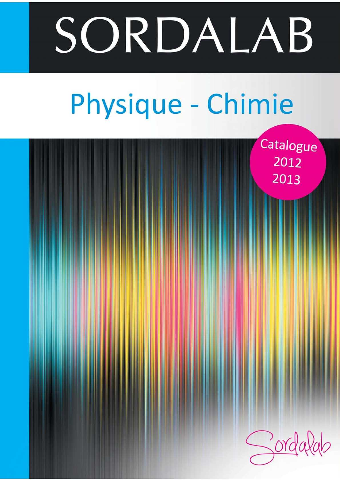 6d5c55079d7def Calaméo - Catalogue Physique-chimie Sordalab 2012-2013