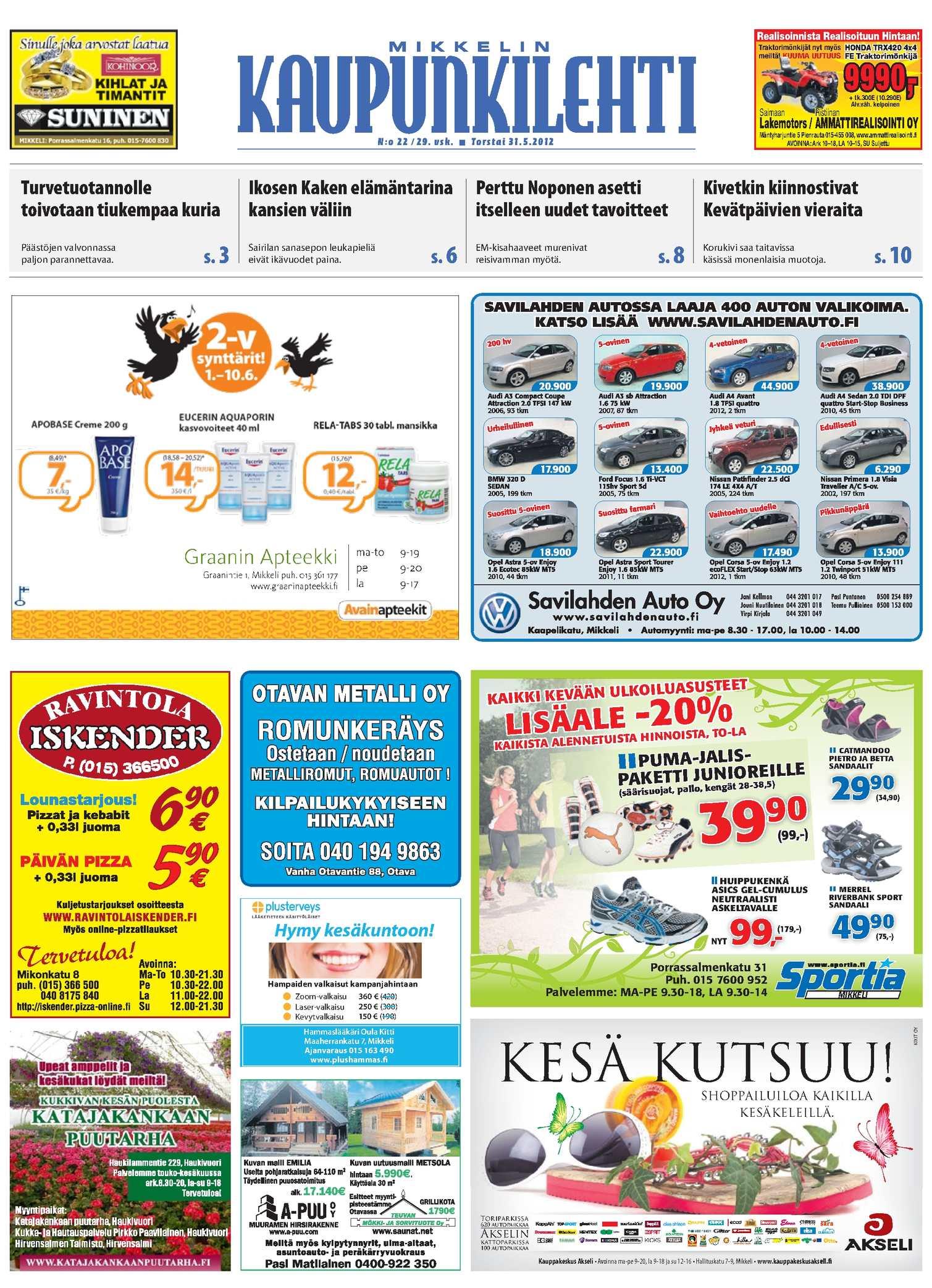 Calaméo - Mikkelin Kaupunkilehti 22 2012 dc6c46f676