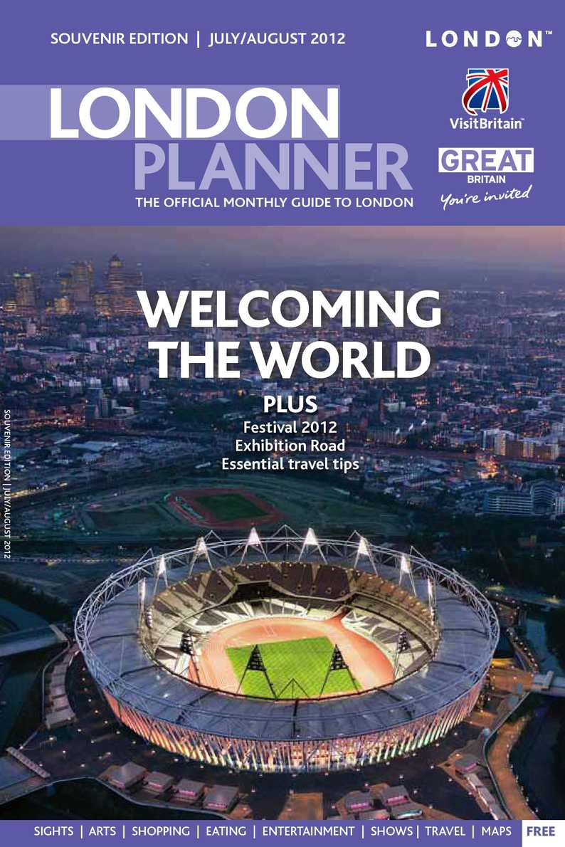 Calameo London Planner Olympic Edition 2012