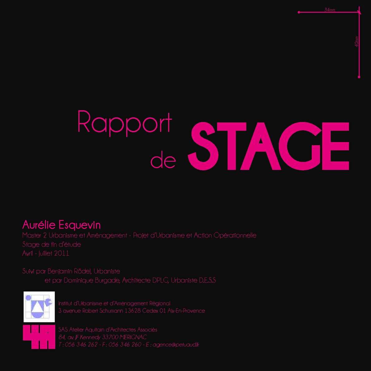 Rapport De Stage Master 2 Urbanisme Calameo Downloader