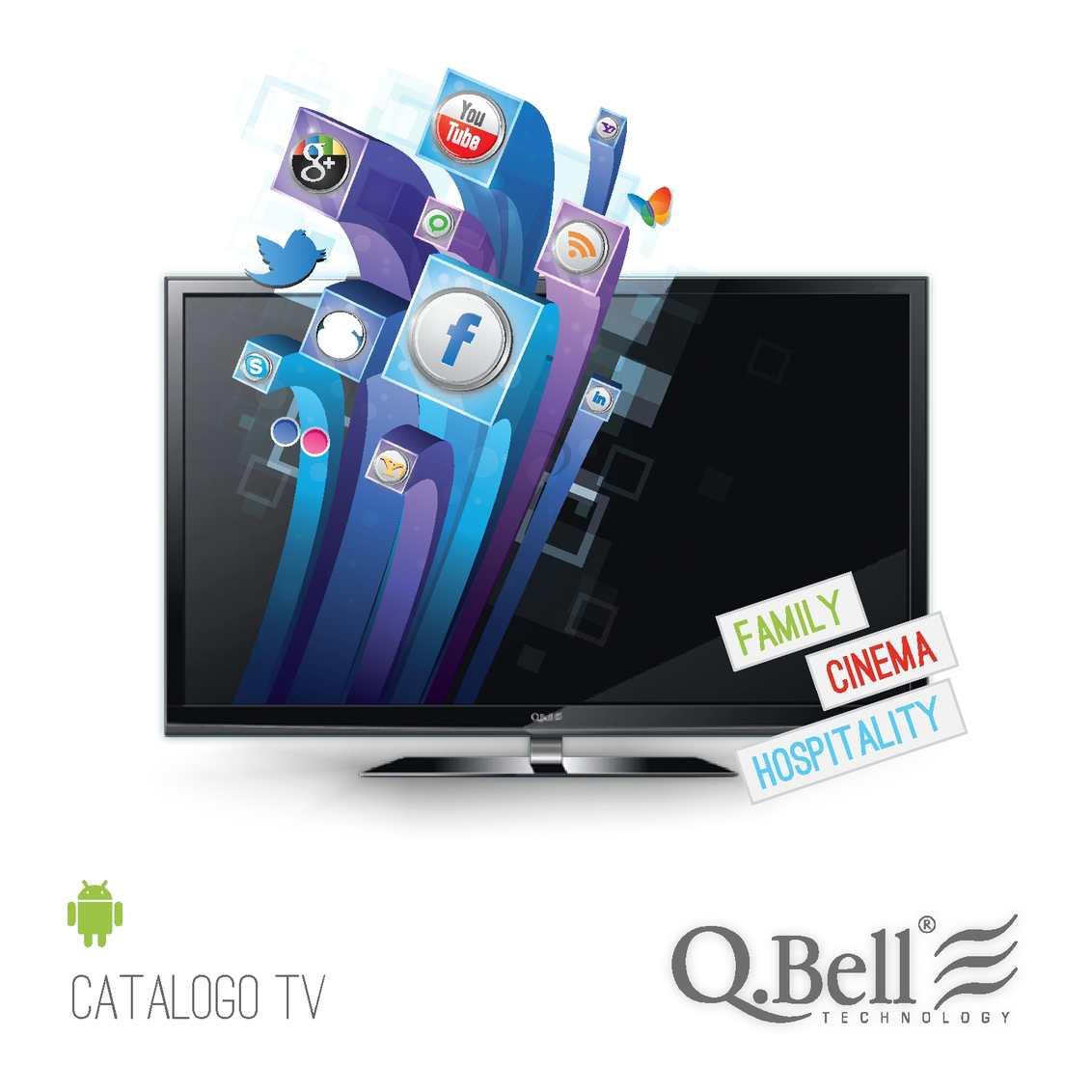 qbell smart tv 55  Calaméo - Catalogo TV QBell 2012
