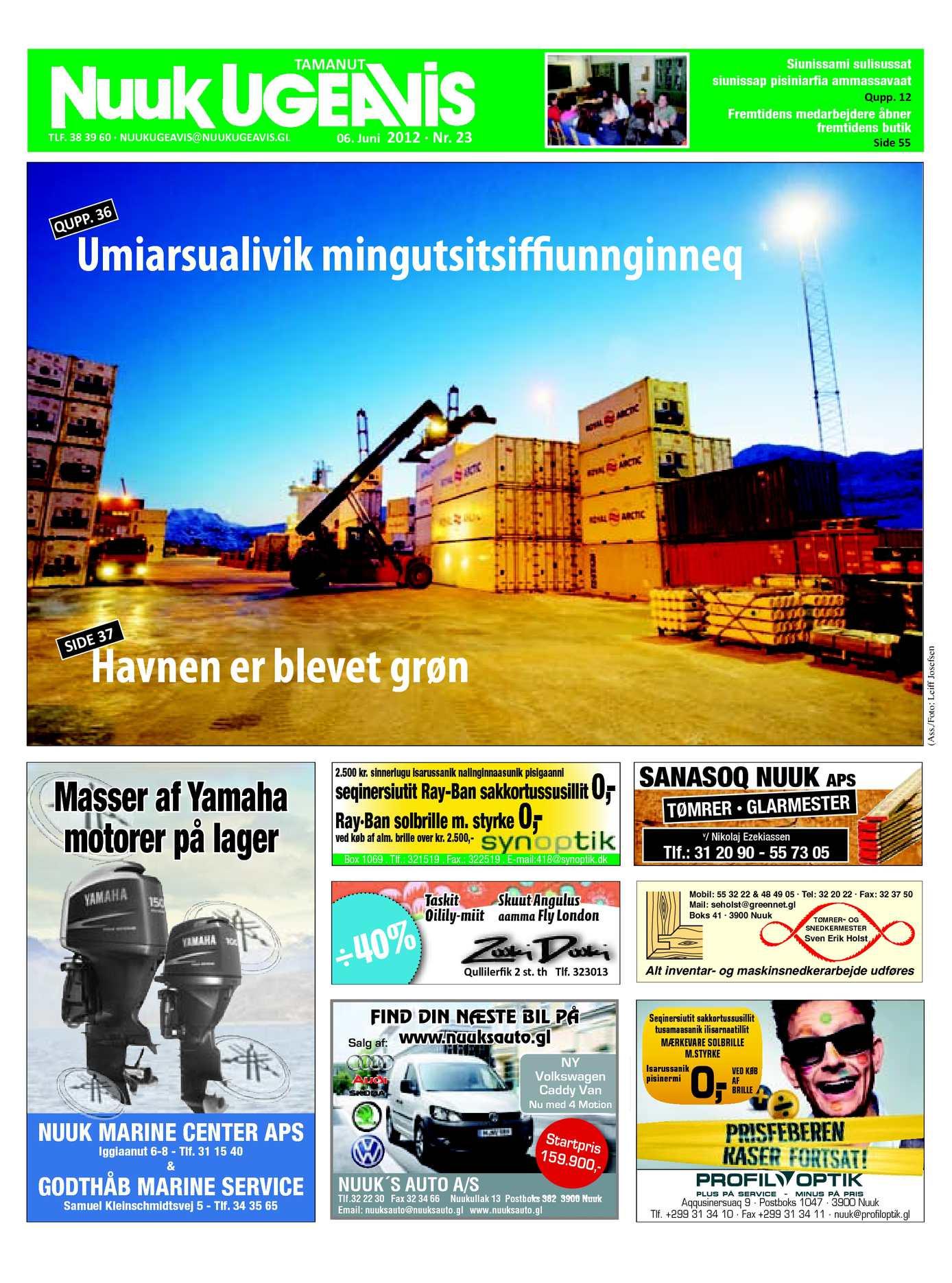 6ca92e10 Calaméo - Nuuk Ugeavis Uge 23