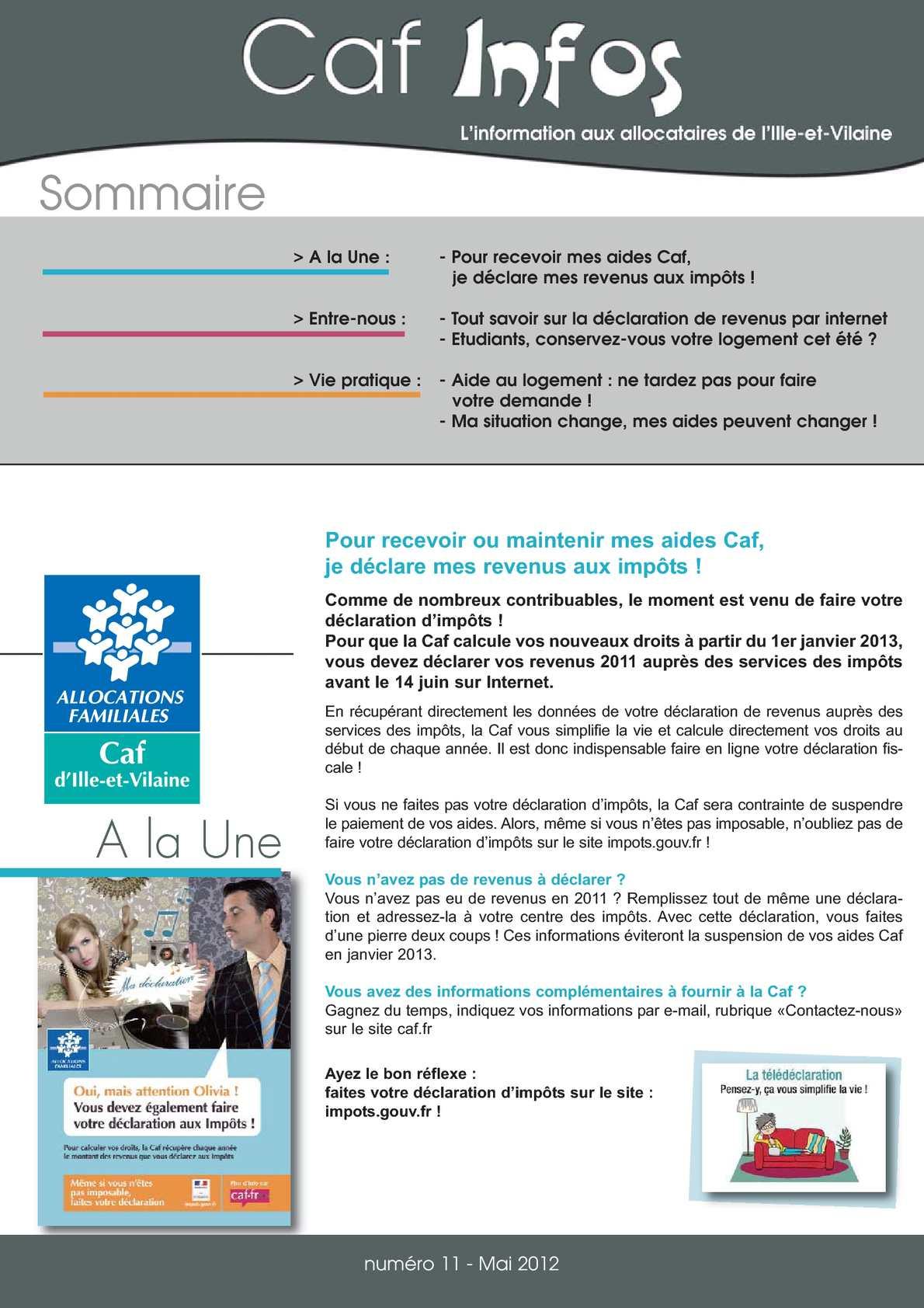 Calameo Journal Cafinfos 11