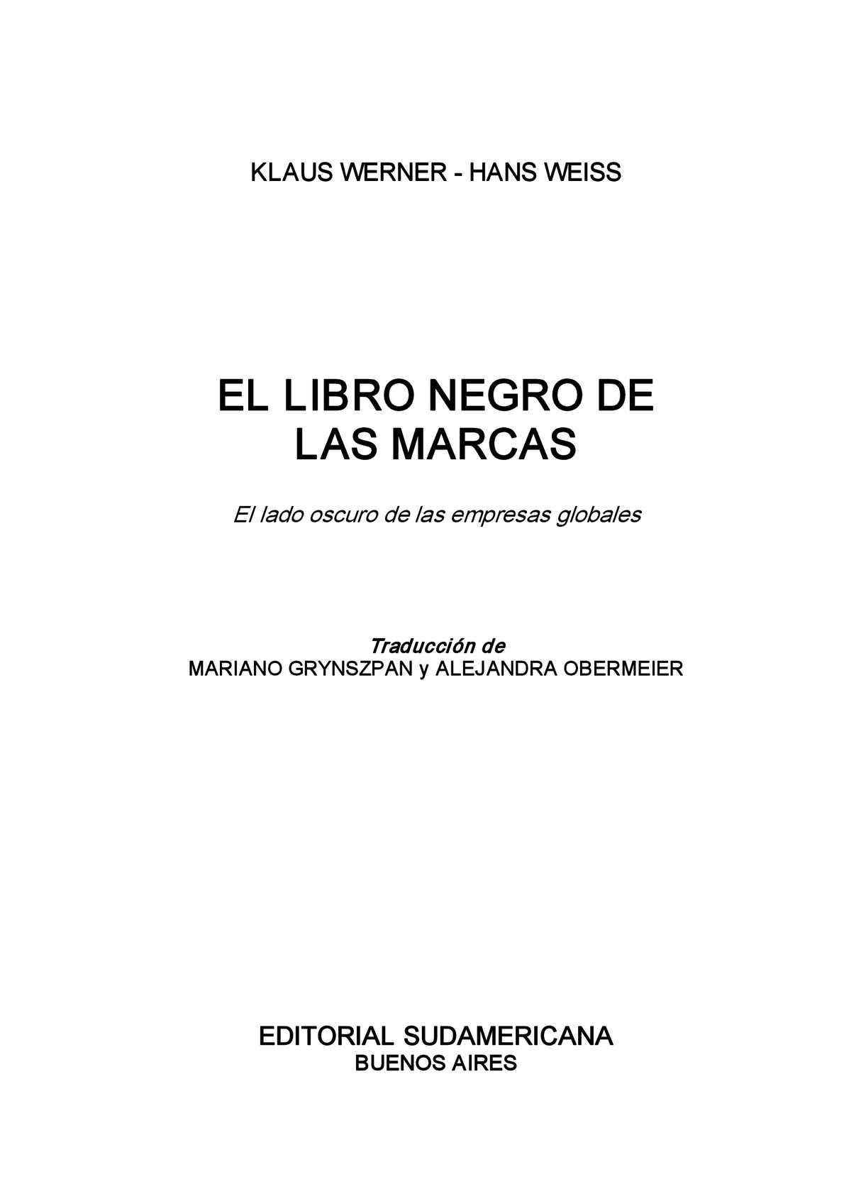 finest selection db380 605f0 Calaméo - El Libro Negro de las Marcas
