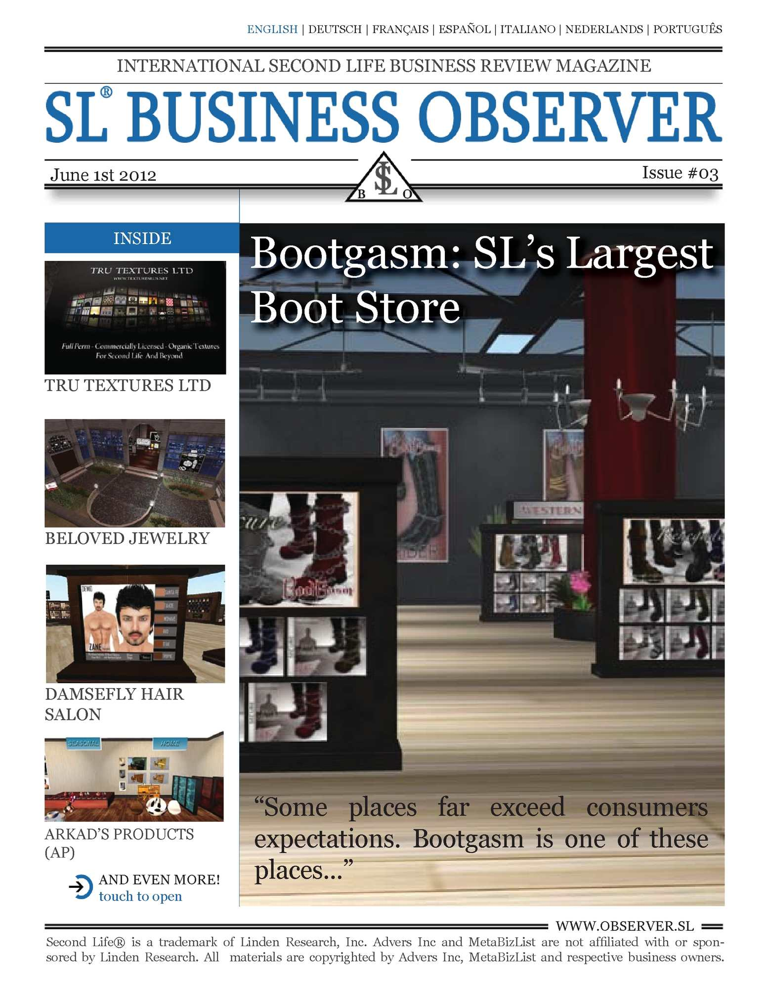 Calaméo - SL Business Observer #03, English