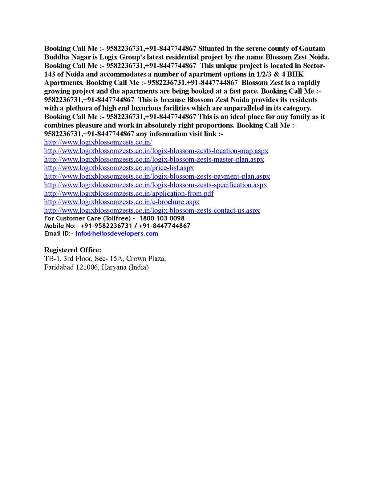 Calaméo - Logix Blossom Zest – 9582236731 | Blossom Zest