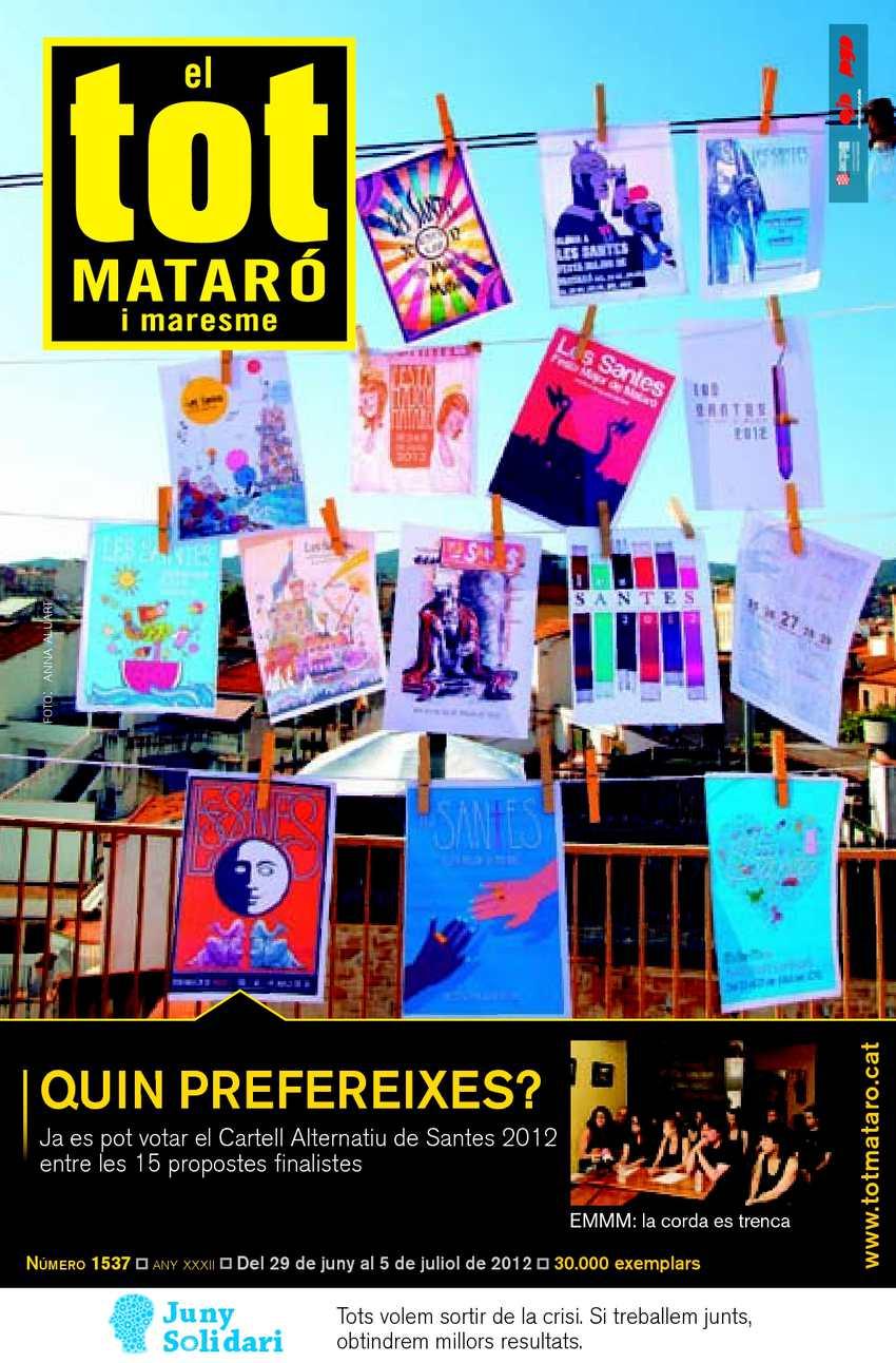 bf26a4ffcf62f Calaméo - EL TOT MATARÓ 1537  Del 29 de juny al 5 de juliol de 2012