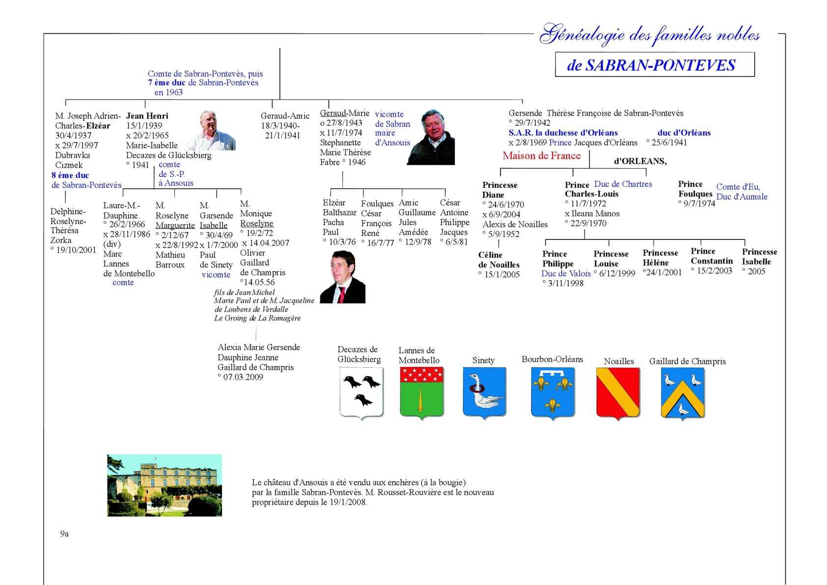 Genealogie Famille Sabran Calameo Downloader