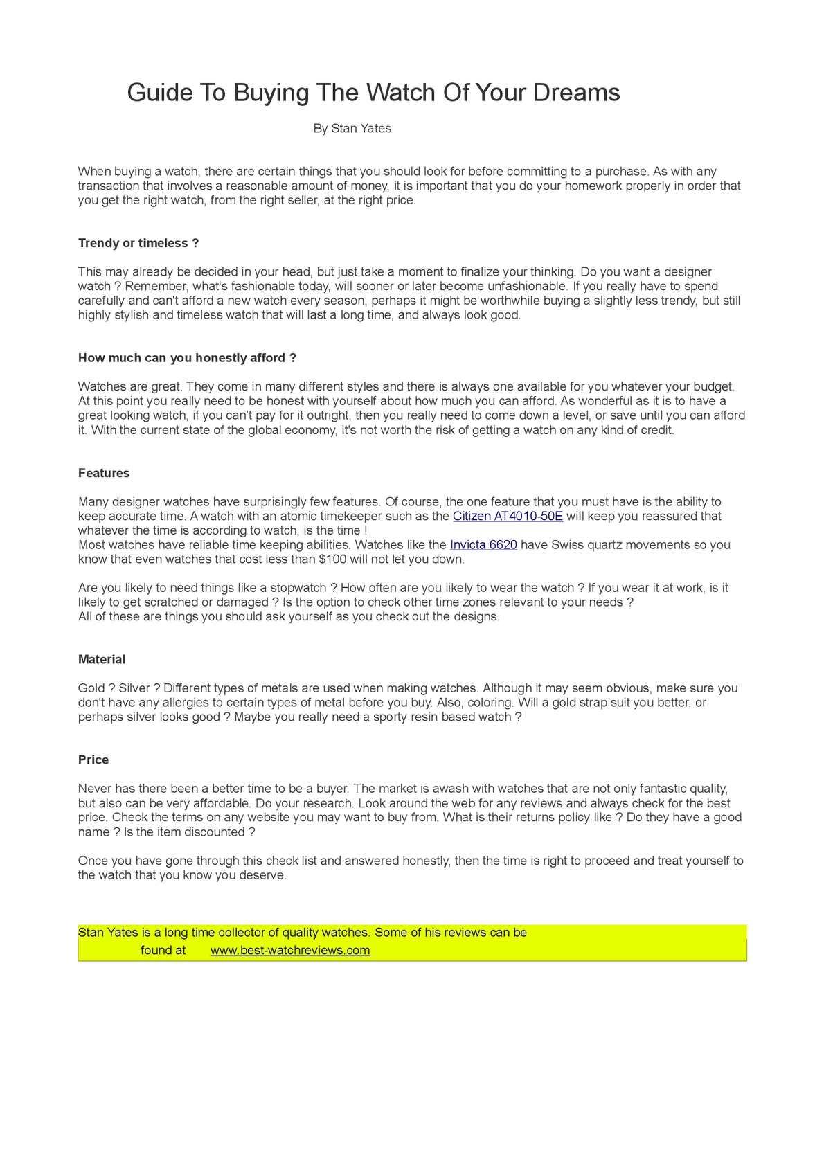5e010d669c366 Calaméo - How To Buy A Watch