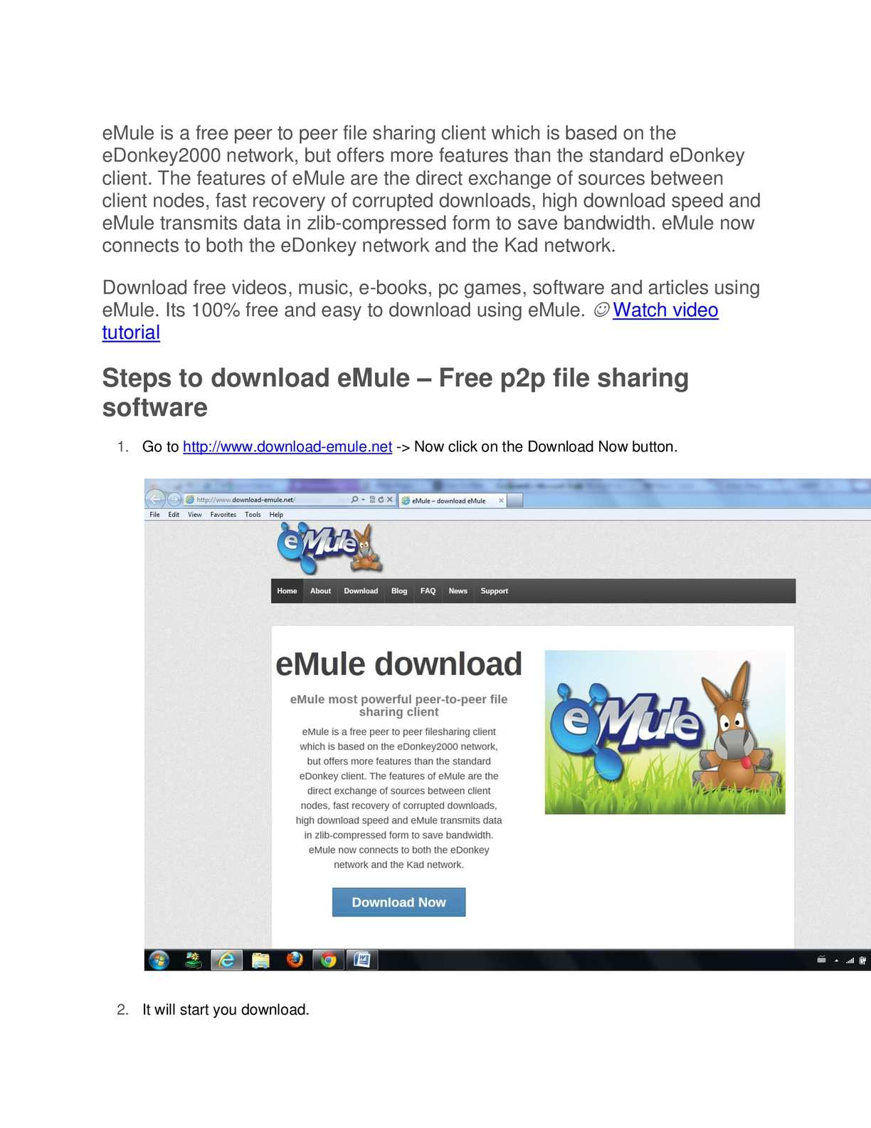 emule kad network not connecting