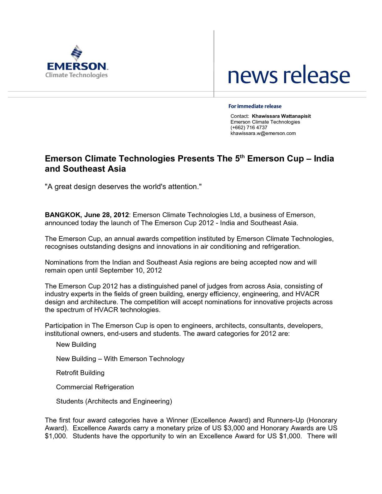 Calaméo - Emerson Climate Technologies Presents The 5th