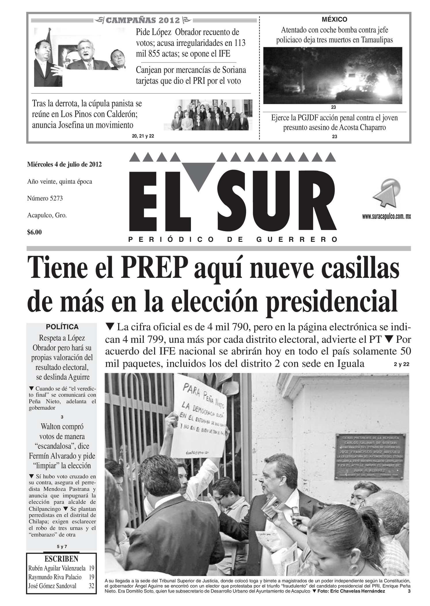 Calaméo El Sur 4 De Julio De 2012