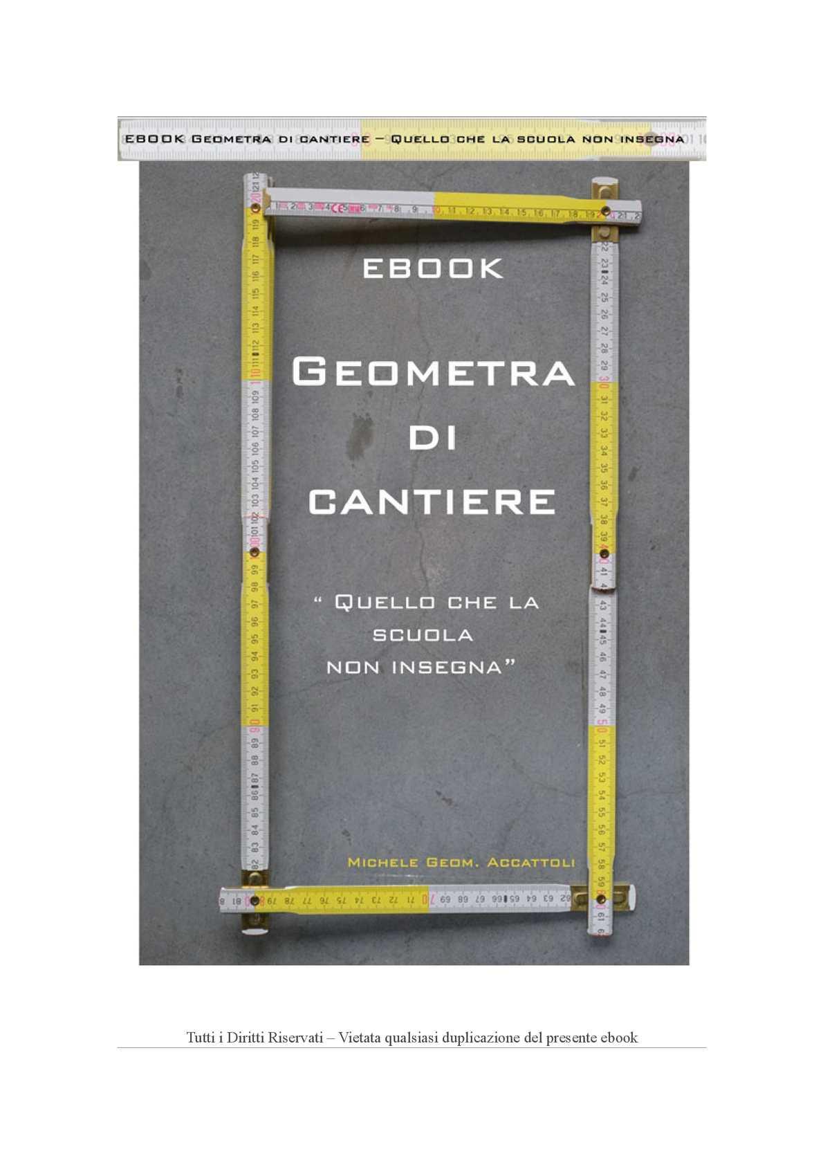 Manuale Del Geometra Pdf Gratis