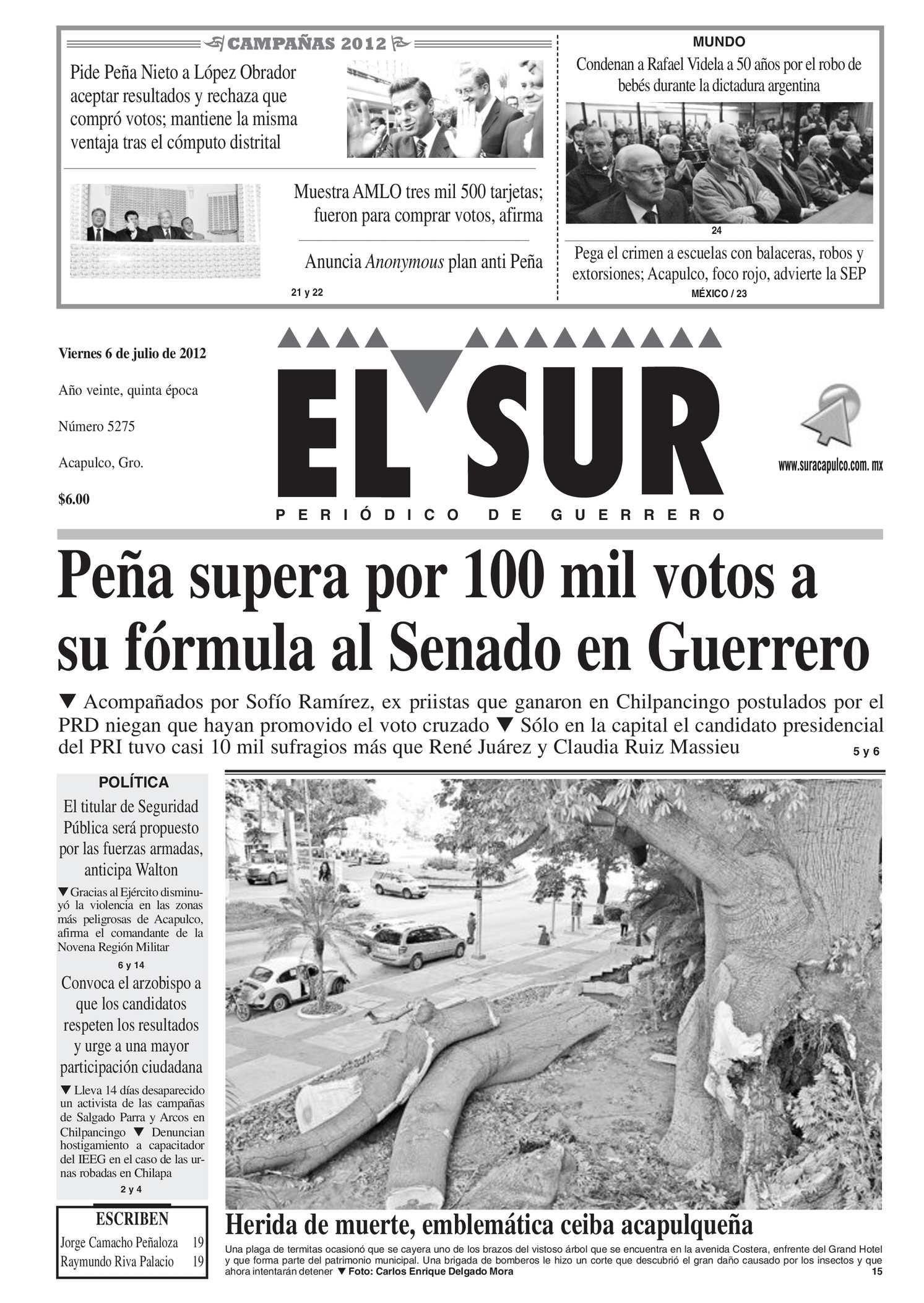 Calaméo El Sur 6 De Julio De 2012