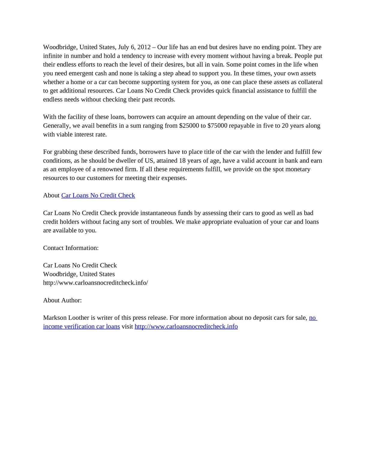 No Credit Check Car Loans >> Calameo Car Loans No Credit Check Secure Economic Funds