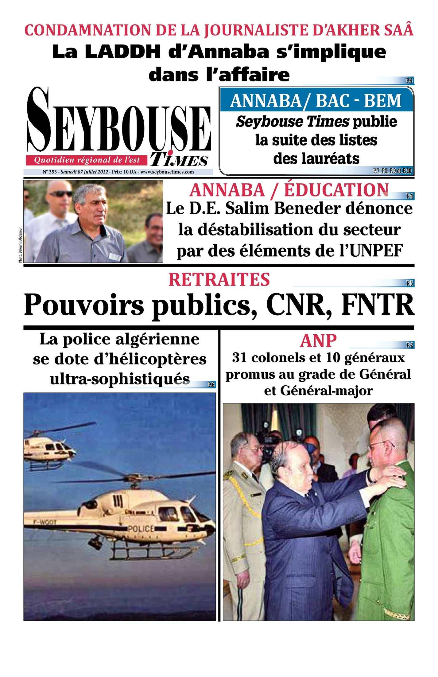 Calaméo Seybouse Times 353
