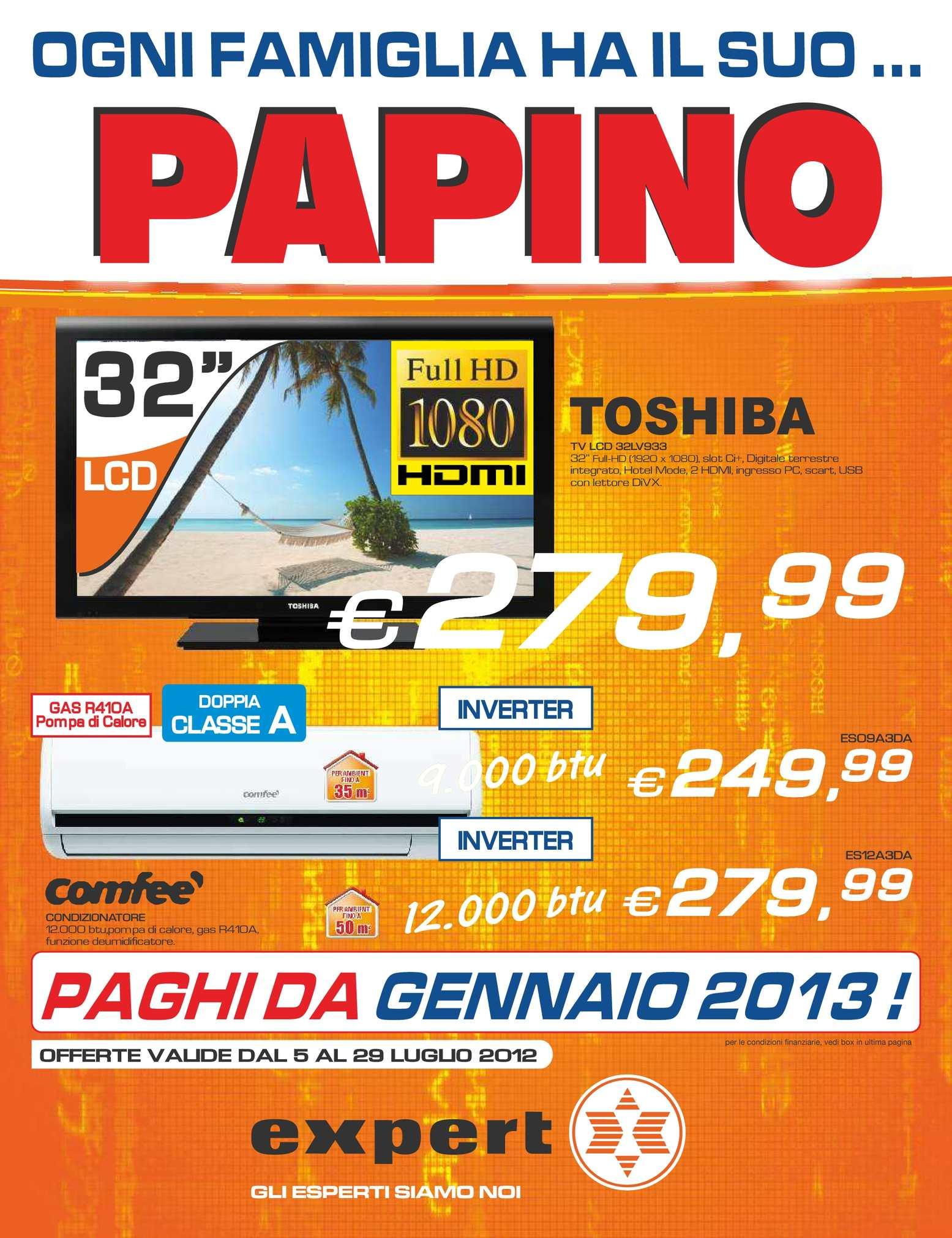 Calaméo - Volantino Expert gruppo Papino dal 5/7 al 29/07/2012