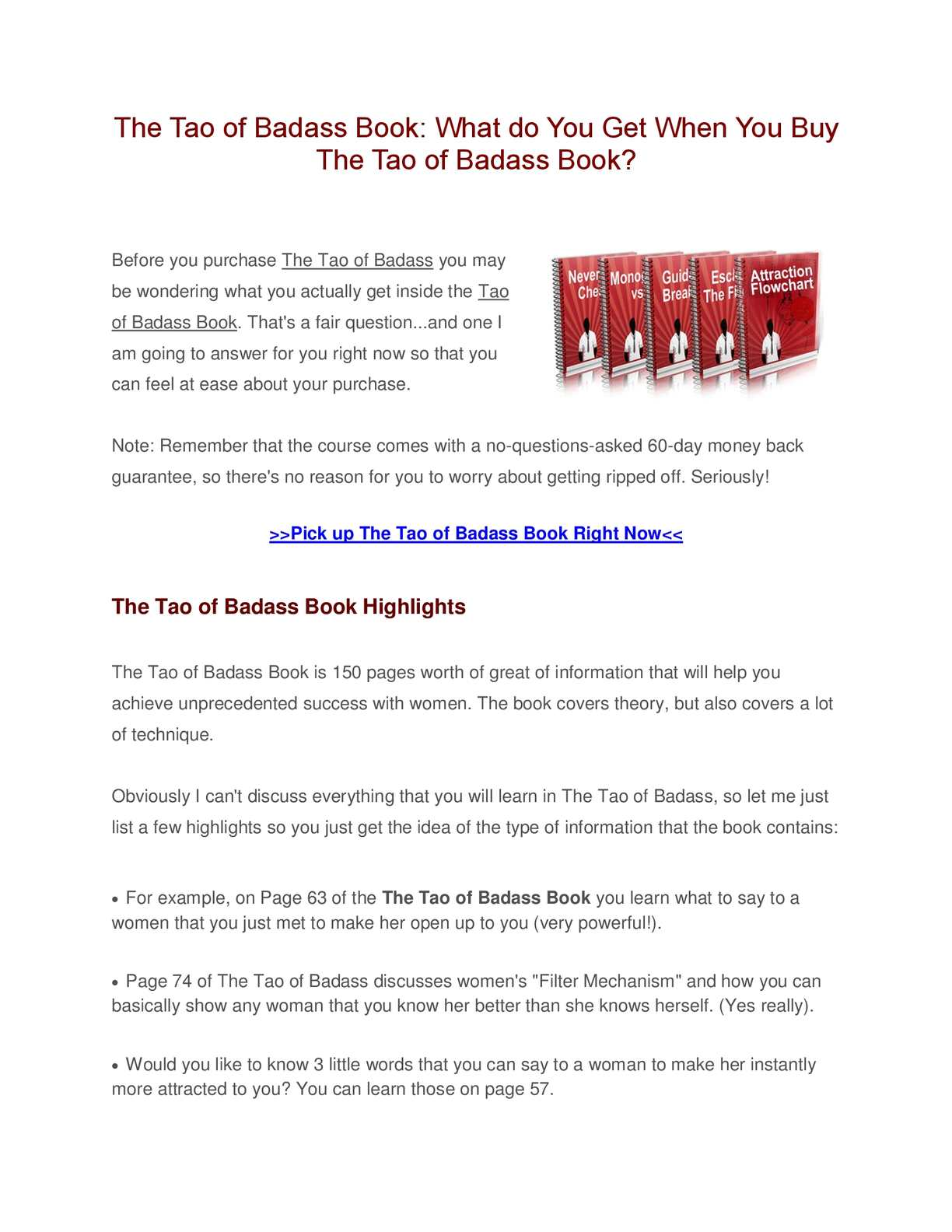 The Tao Of Badass Epub
