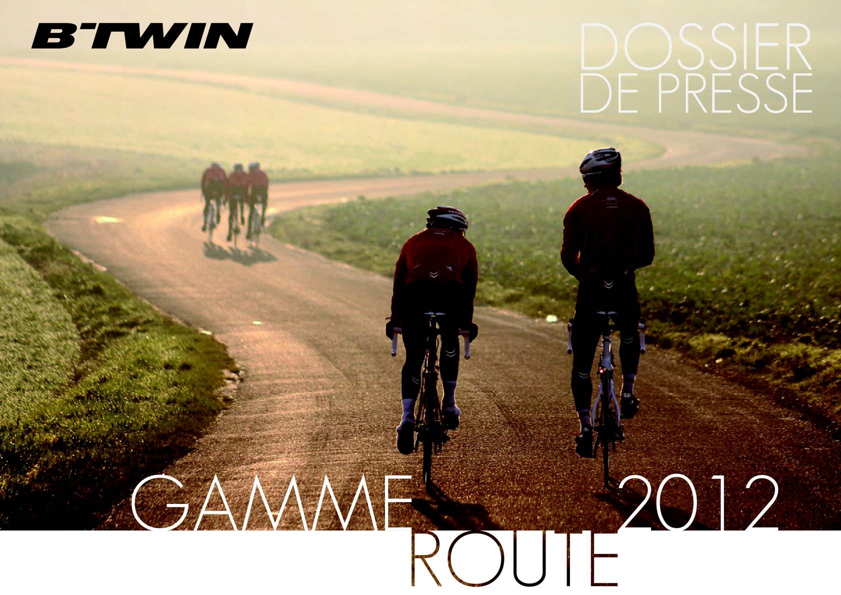 B'TWIN GAMME ROUTE 2012