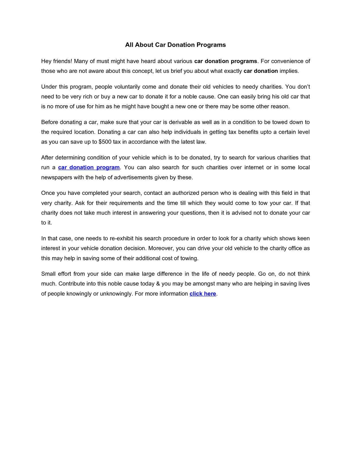 Calaméo - All About Car Donation Programs