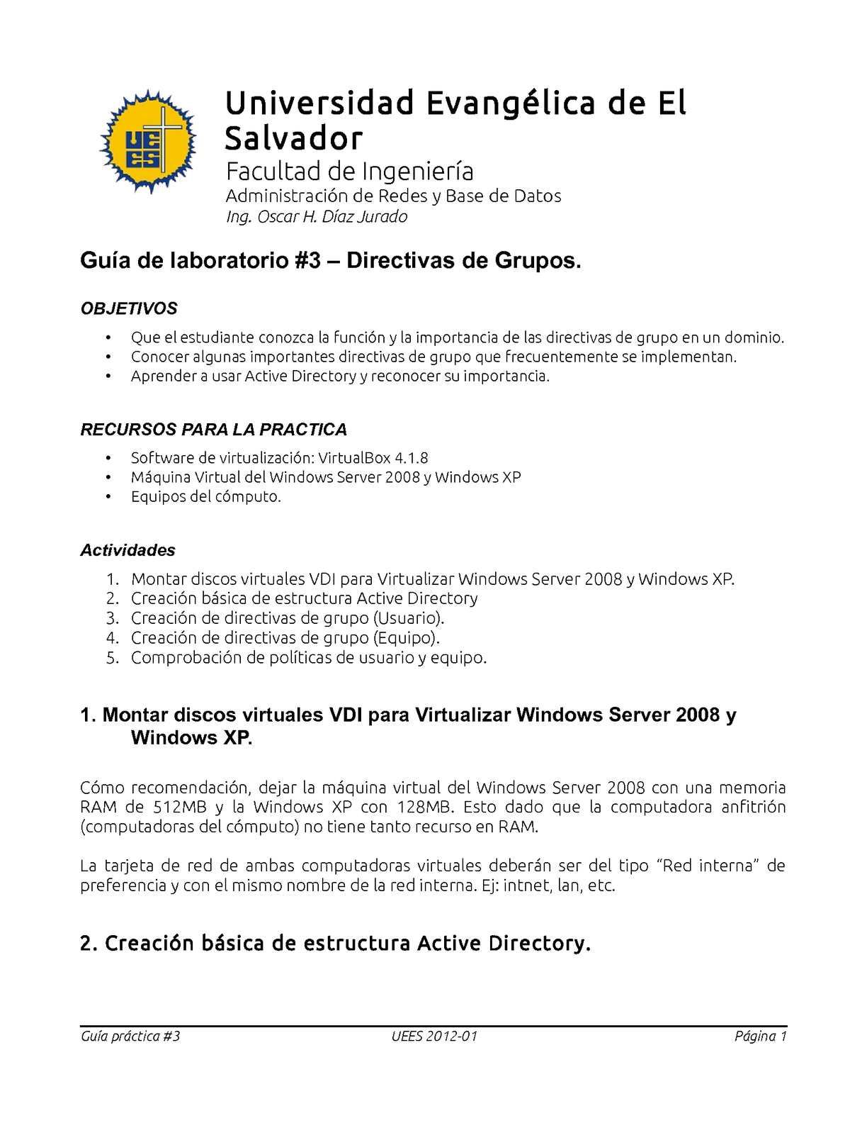 Calaméo Directivas De Grupo En Windows Server 2008