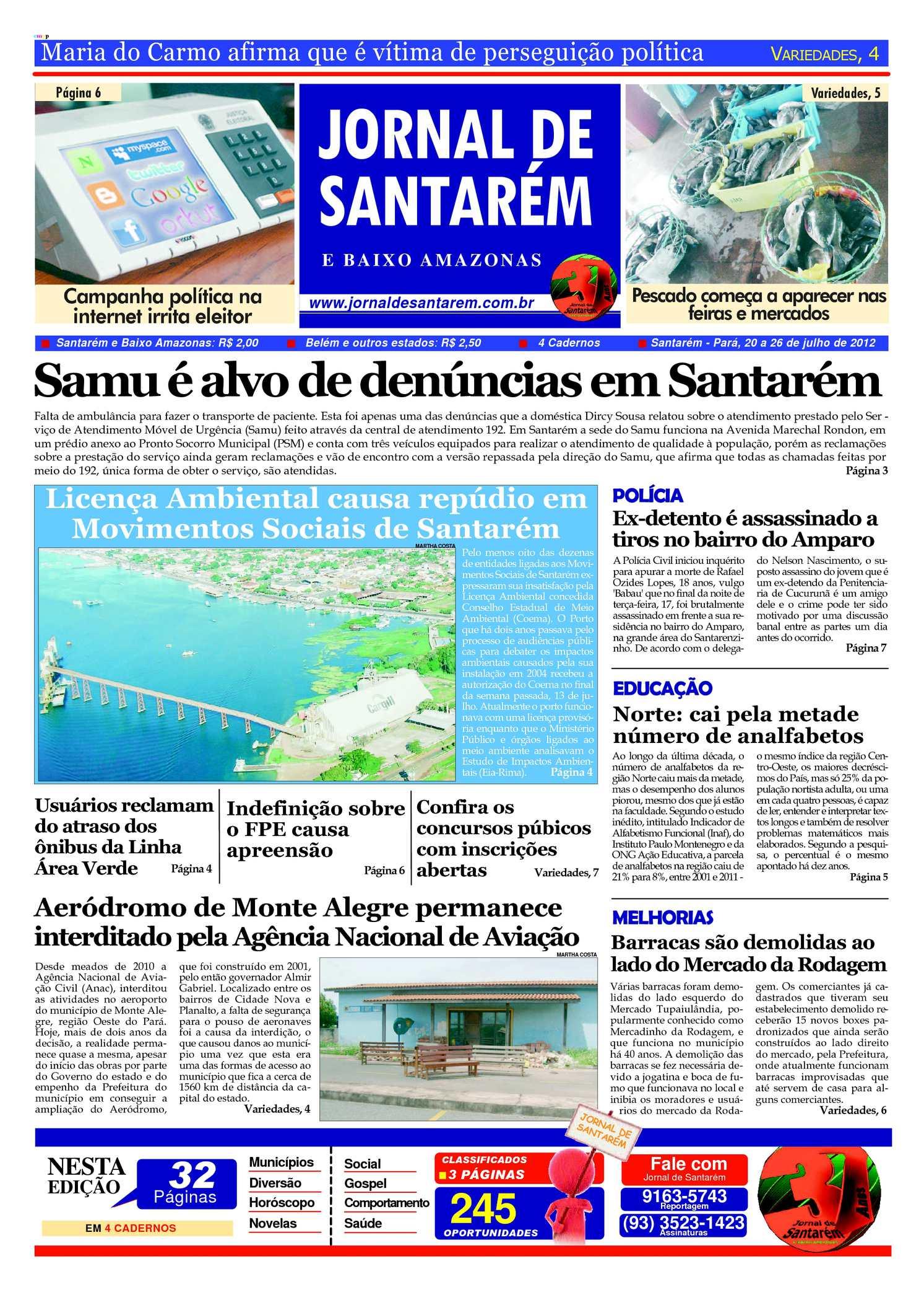 198a5045a25eb Calaméo - jornal de Santarém, 20 a 26 de julho de 2012