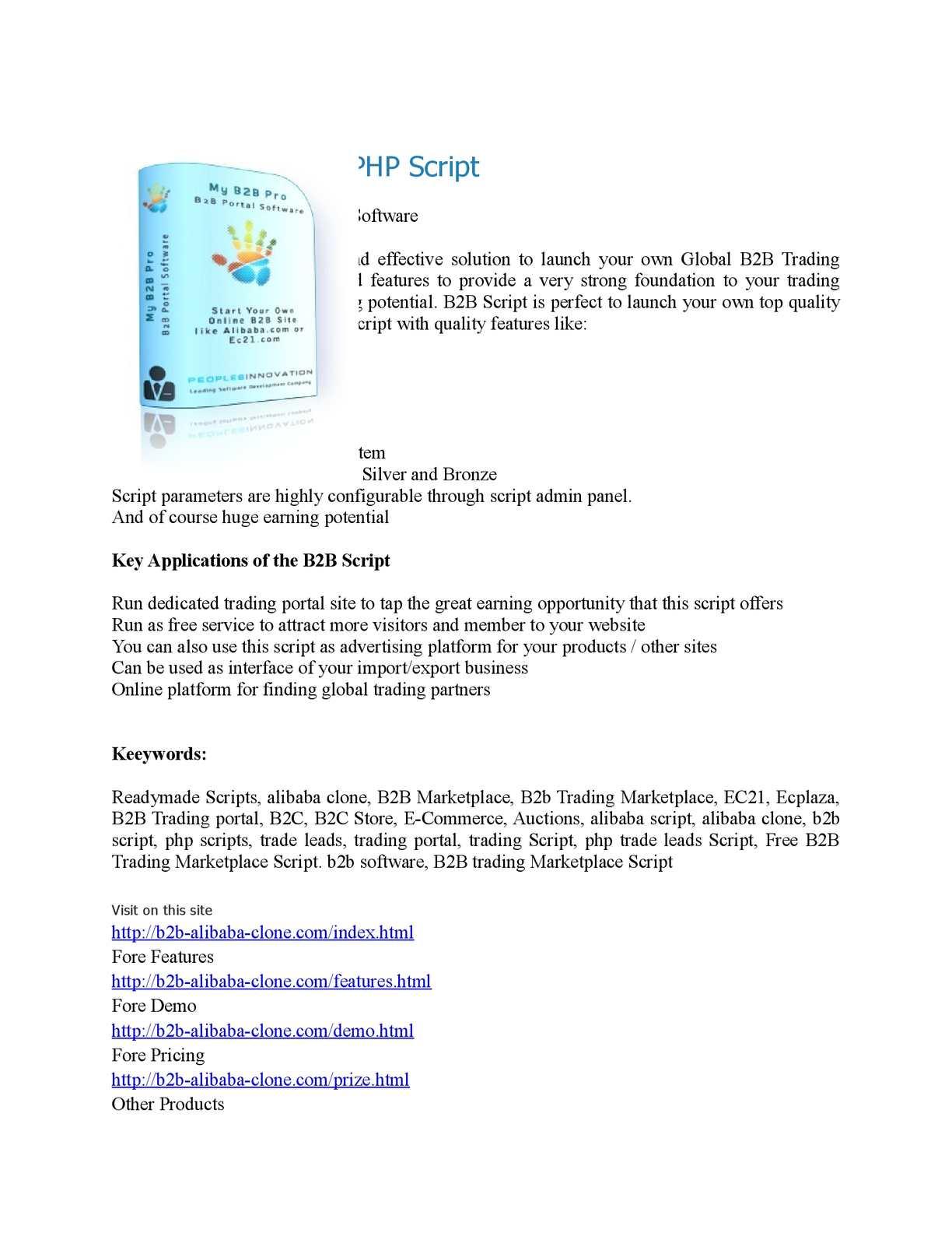 Calaméo - Alibaba Clone Script Best B2B Software