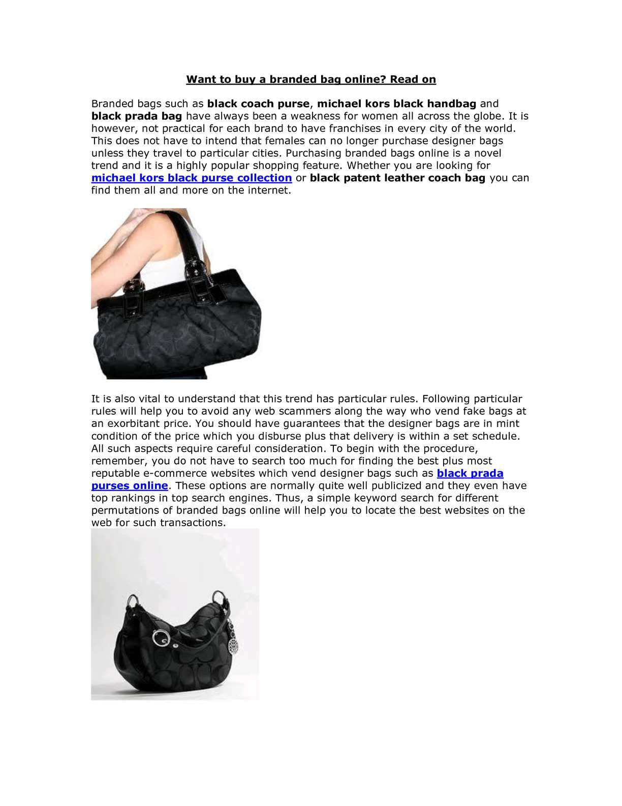 e8515522022 Calaméo - Want to buy a branded bag online? Read on