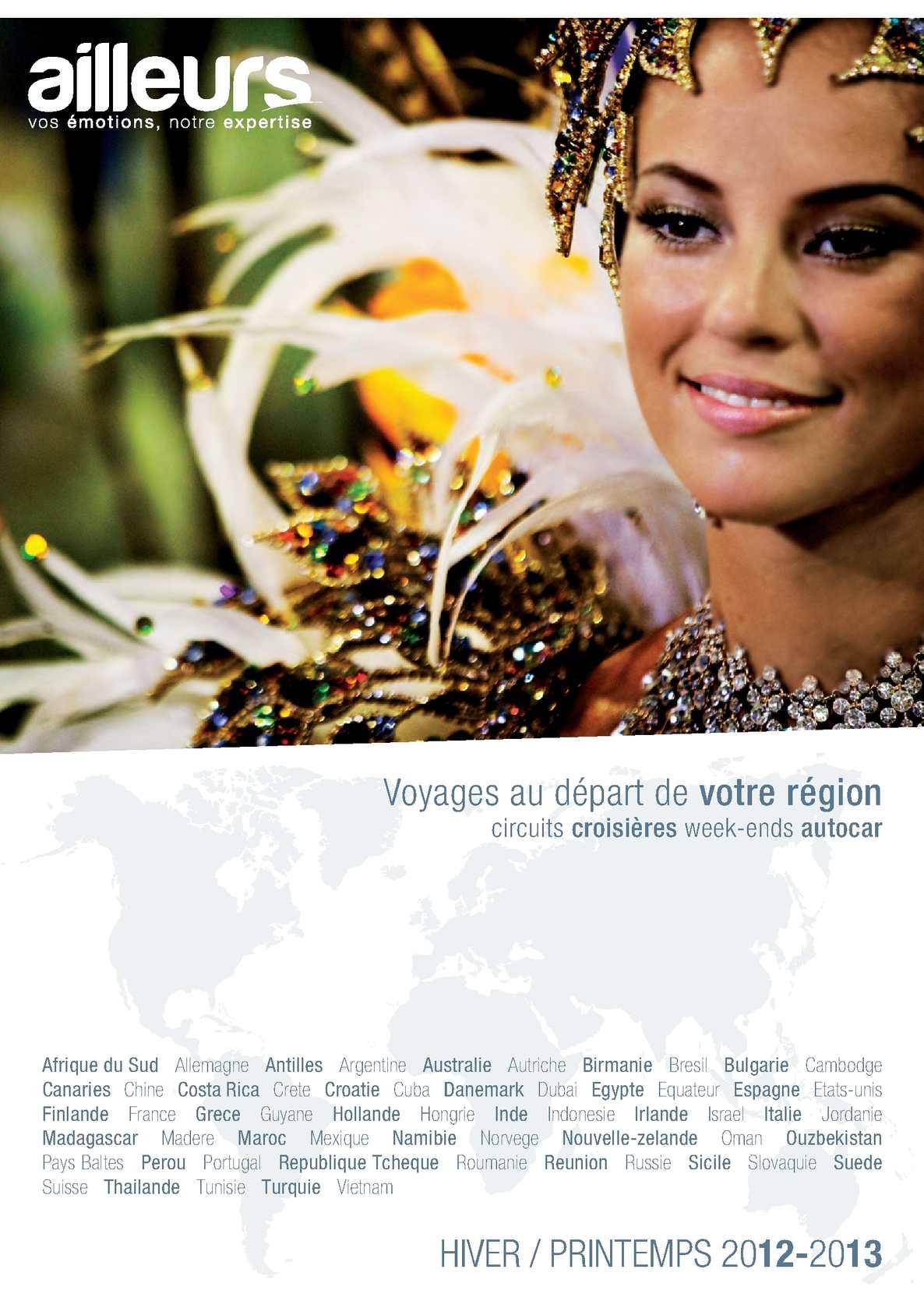 Calaméo - Ailleurs - Voyages au départ de votre région - Hiver Printemps  2012 2013 cdc89b8dc427