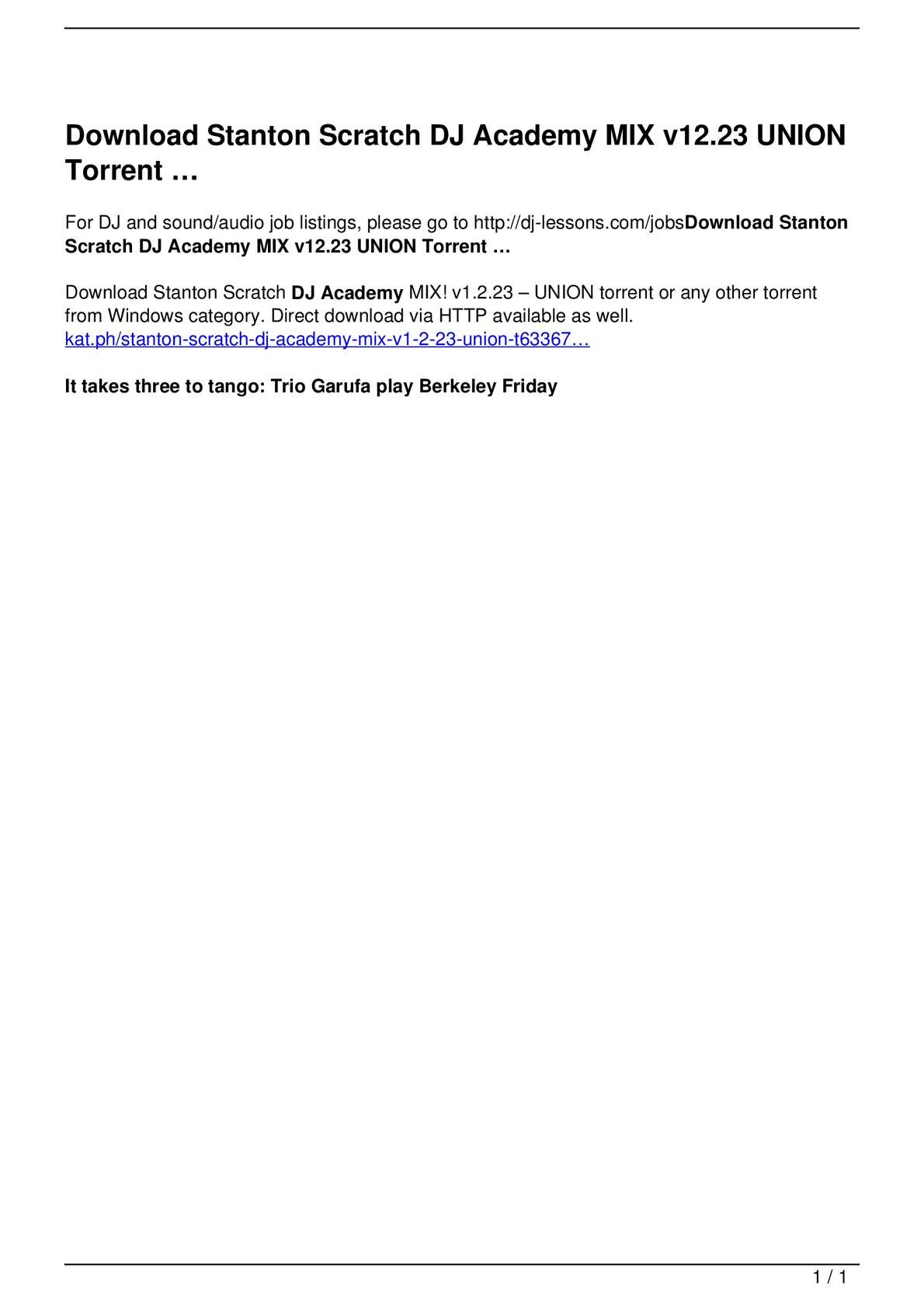 Calaméo - Download Stanton Scratch DJ Academy MIX v12 23