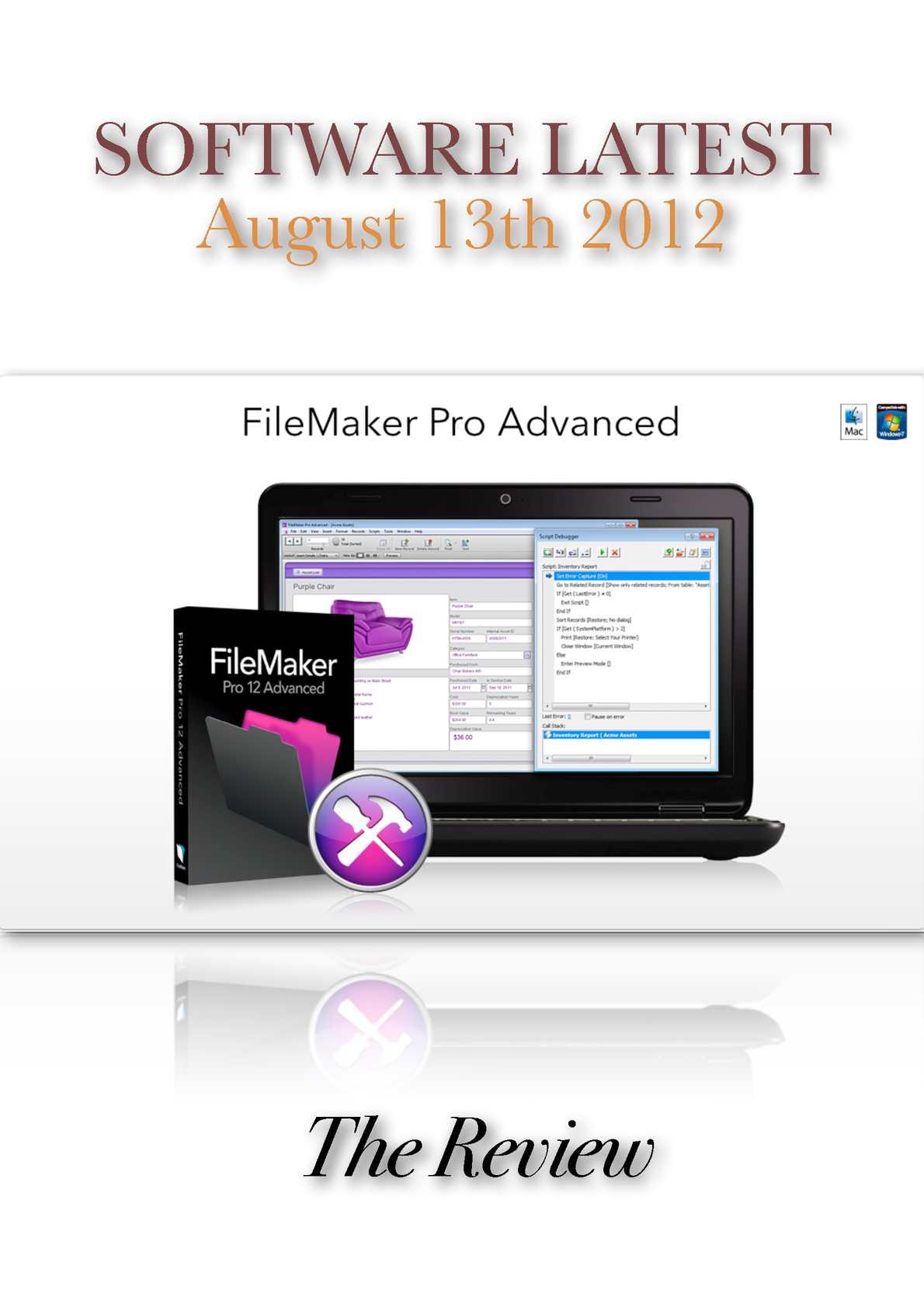 Calaméo - Filemaker Pro Advanced