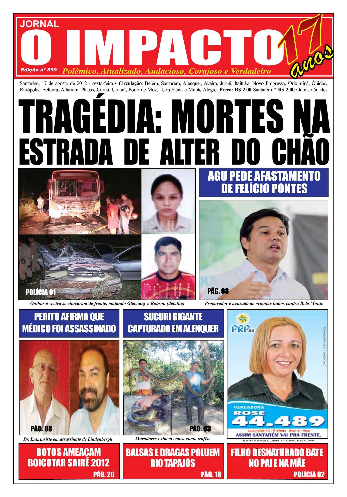 ca6b65cd5 Calaméo - Jornal O Impacto Ed. 899