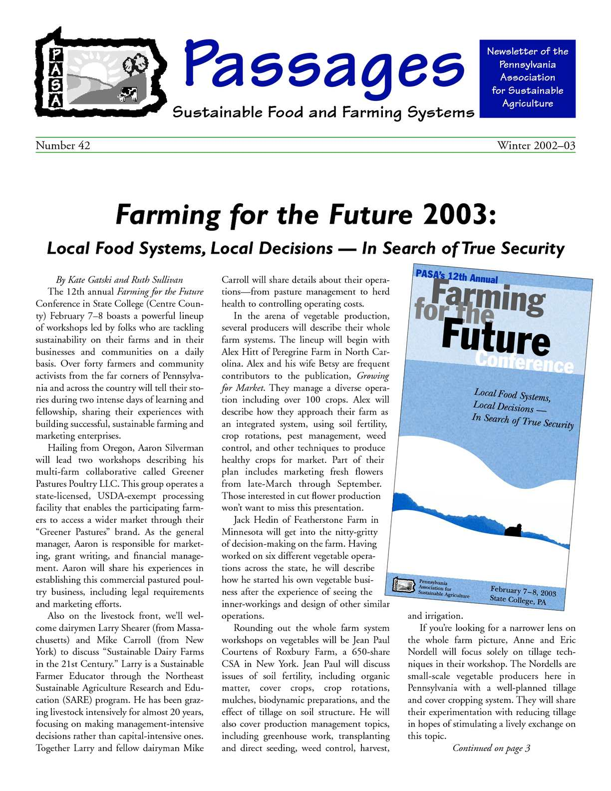 image about Oregonlive Printable Tv Listings referred to as Calaméo - Wintertime 2002 Sustainable Farming and Food stuff E-newsletter