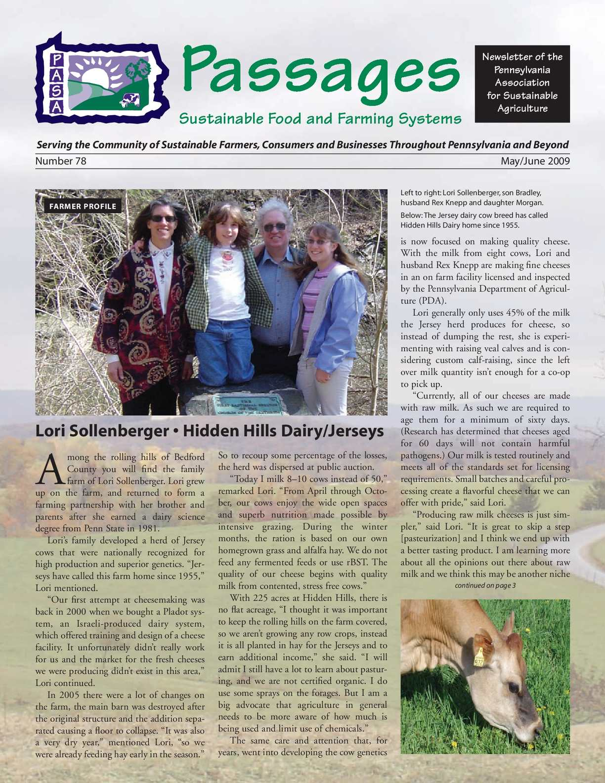 Calameo May June 2009 Sustainable Farming And Food Newsletter